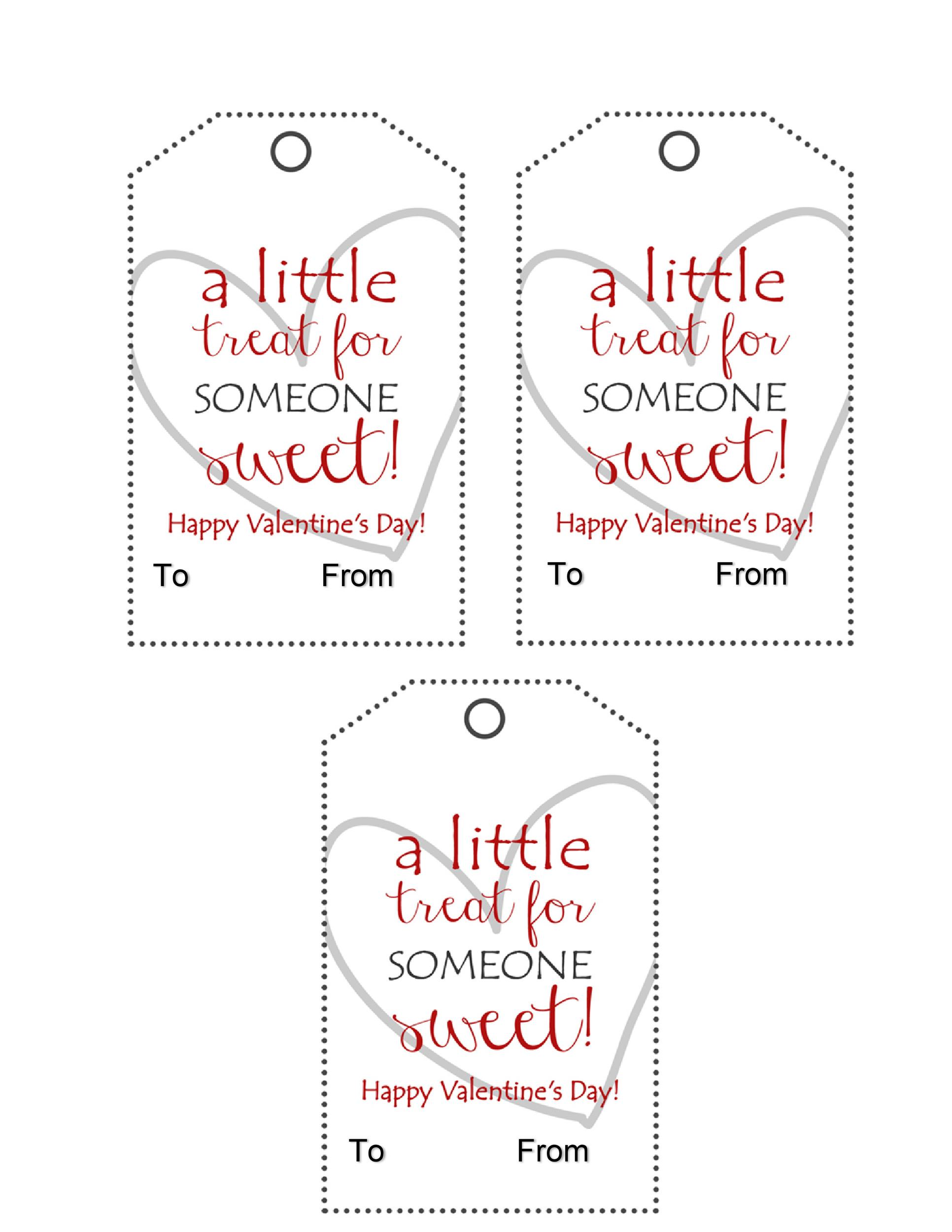 Free Gift Tag Template 41