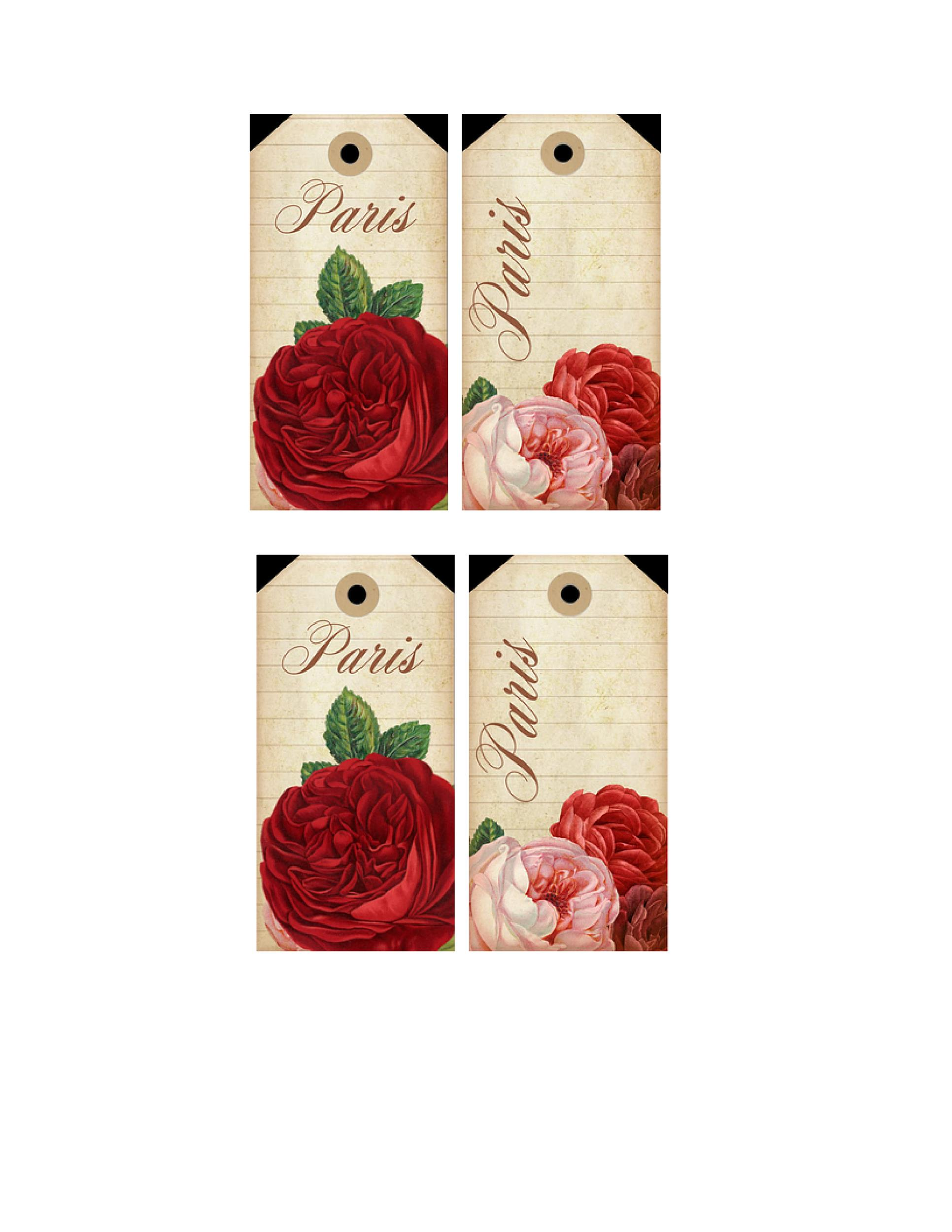 Free Gift Tag Template 43