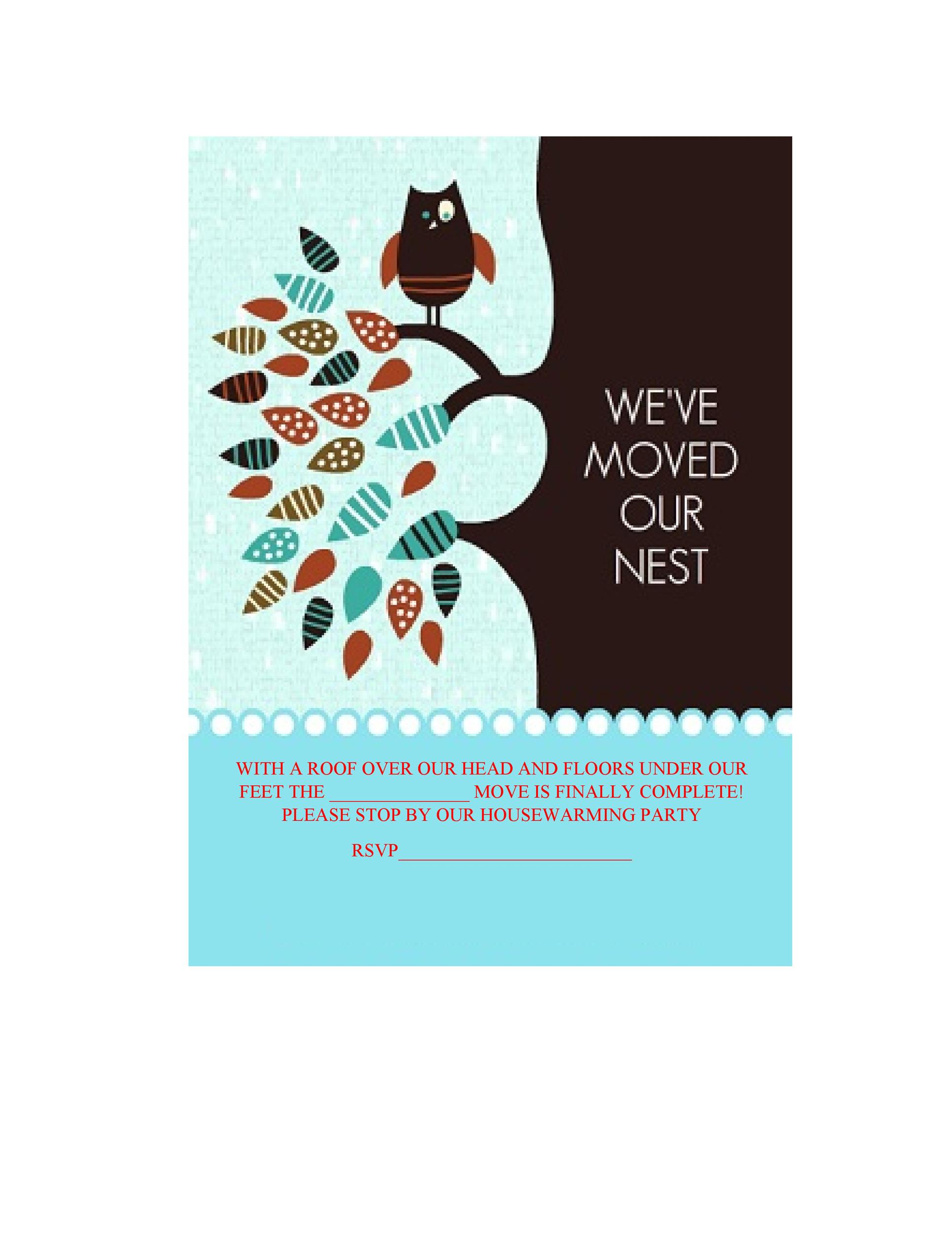 Free Housewarming Invitation Template 11