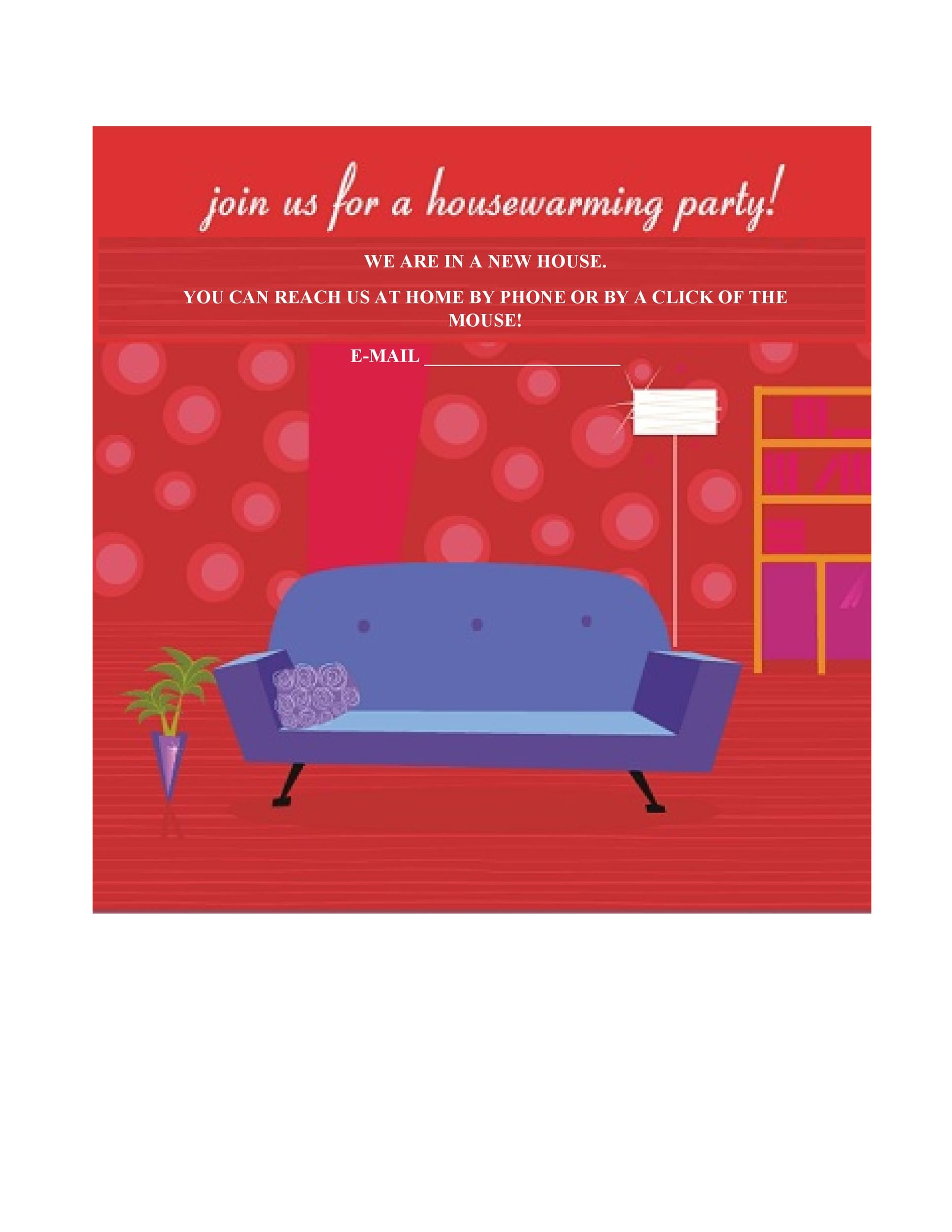 Free Housewarming Invitation Template 12