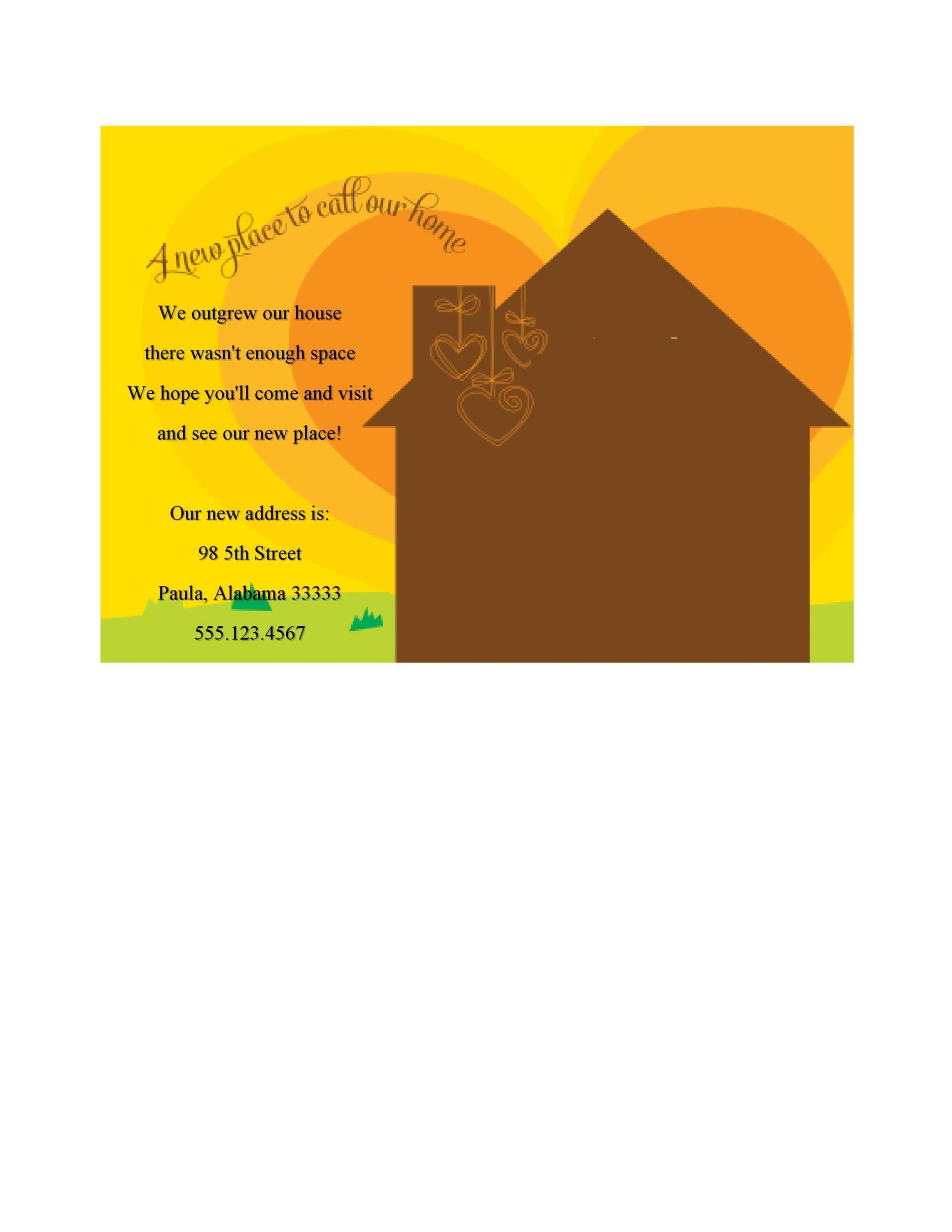 Free Housewarming Invitation Template 19