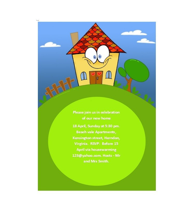 Free Housewarming Invitation Template 23
