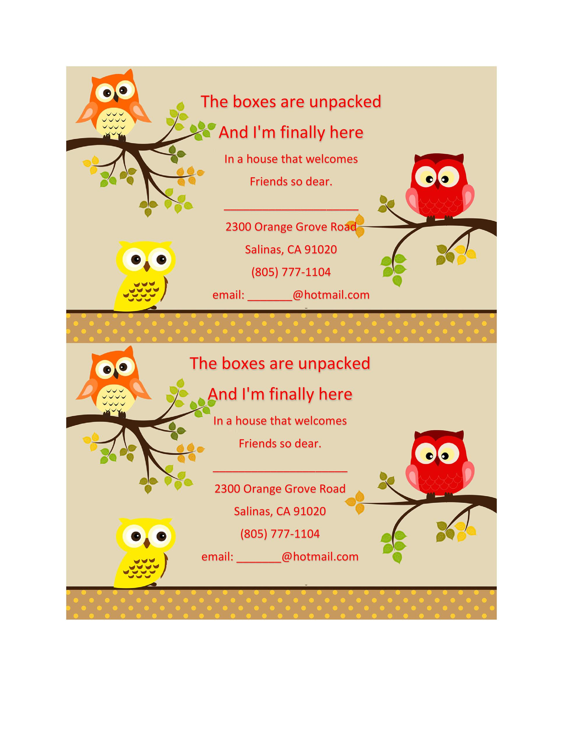 Free Housewarming Invitation Template 28