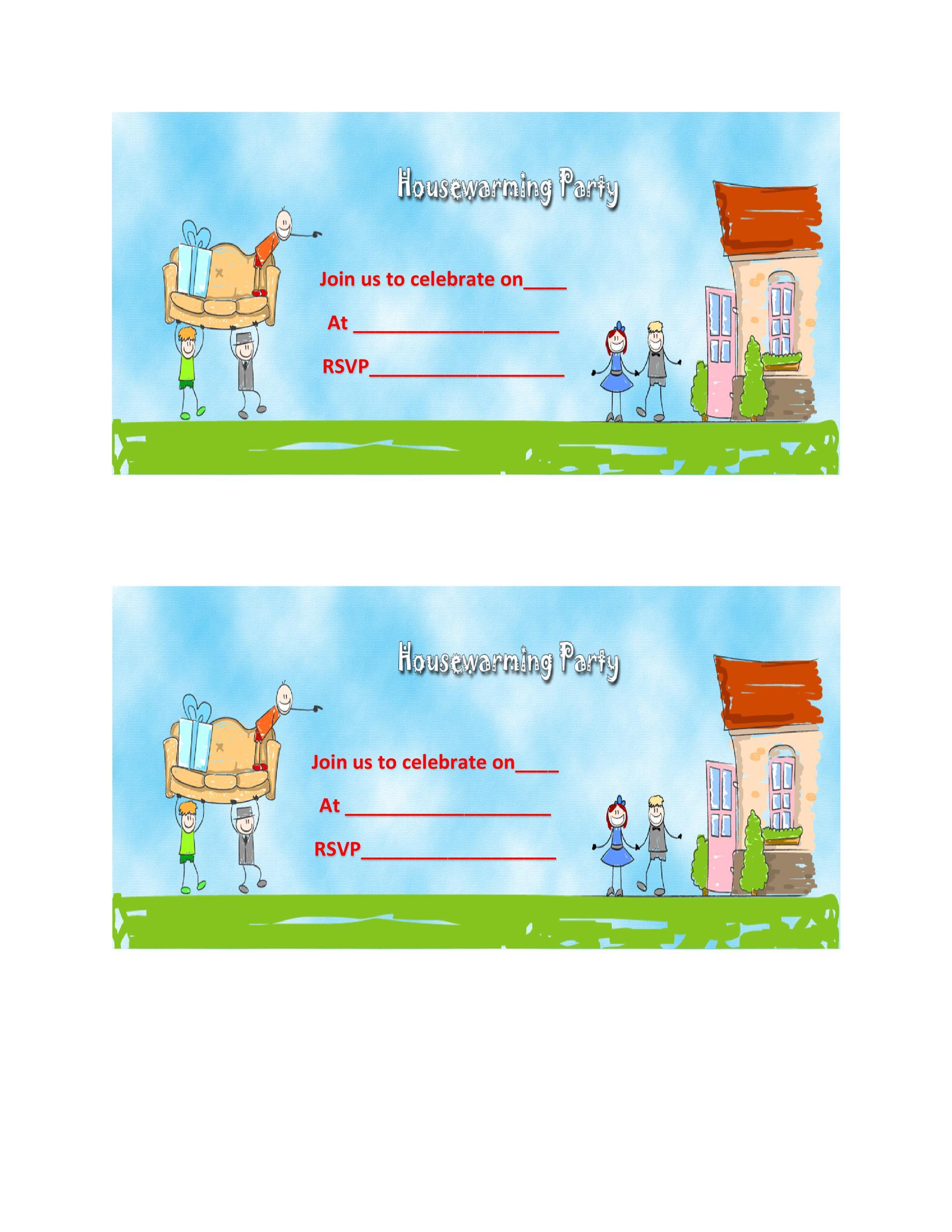 Free Housewarming Invitation Template 32