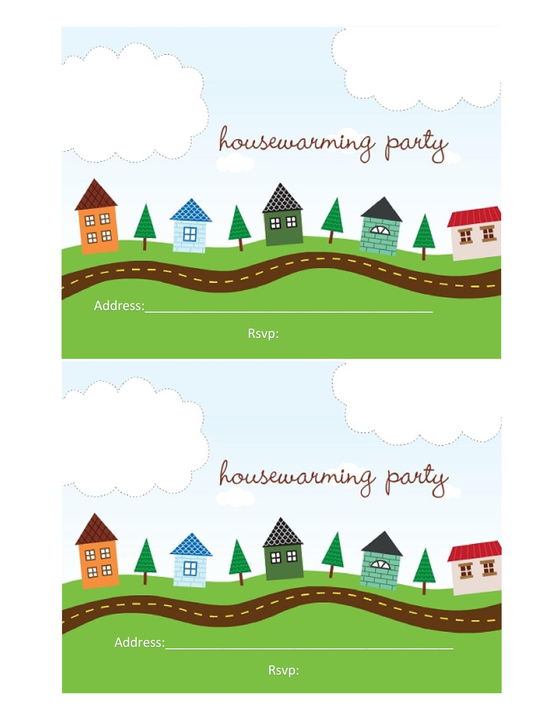 Free Housewarming Invitation Template 37