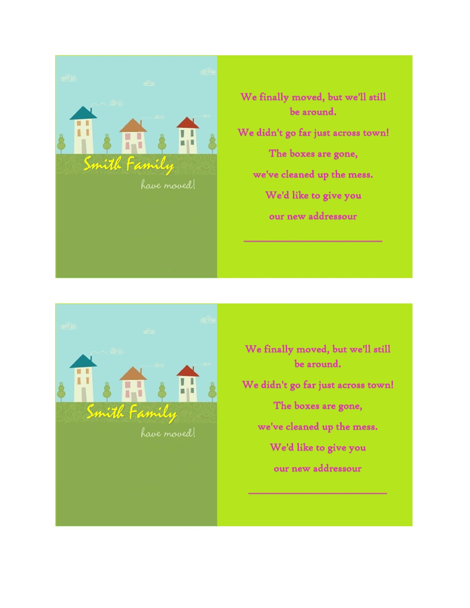 Free Housewarming Invitation Template 38