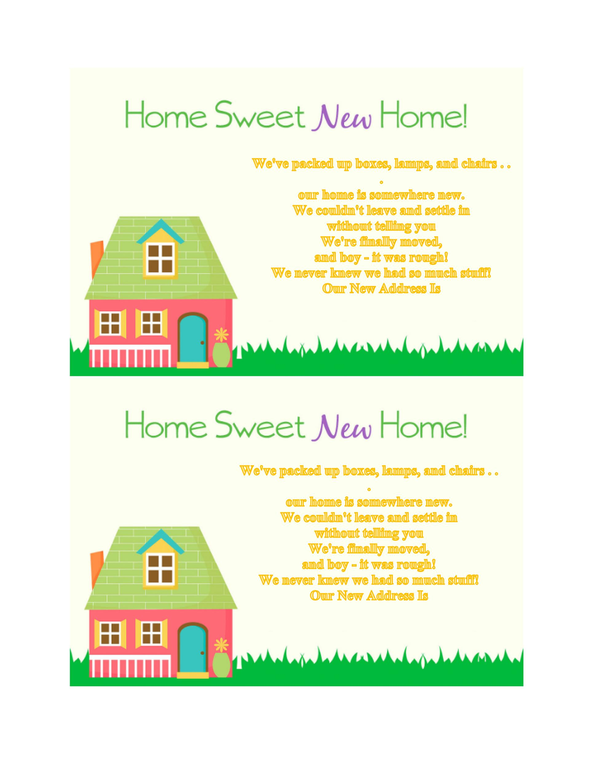 Free Housewarming Invitation Template 41