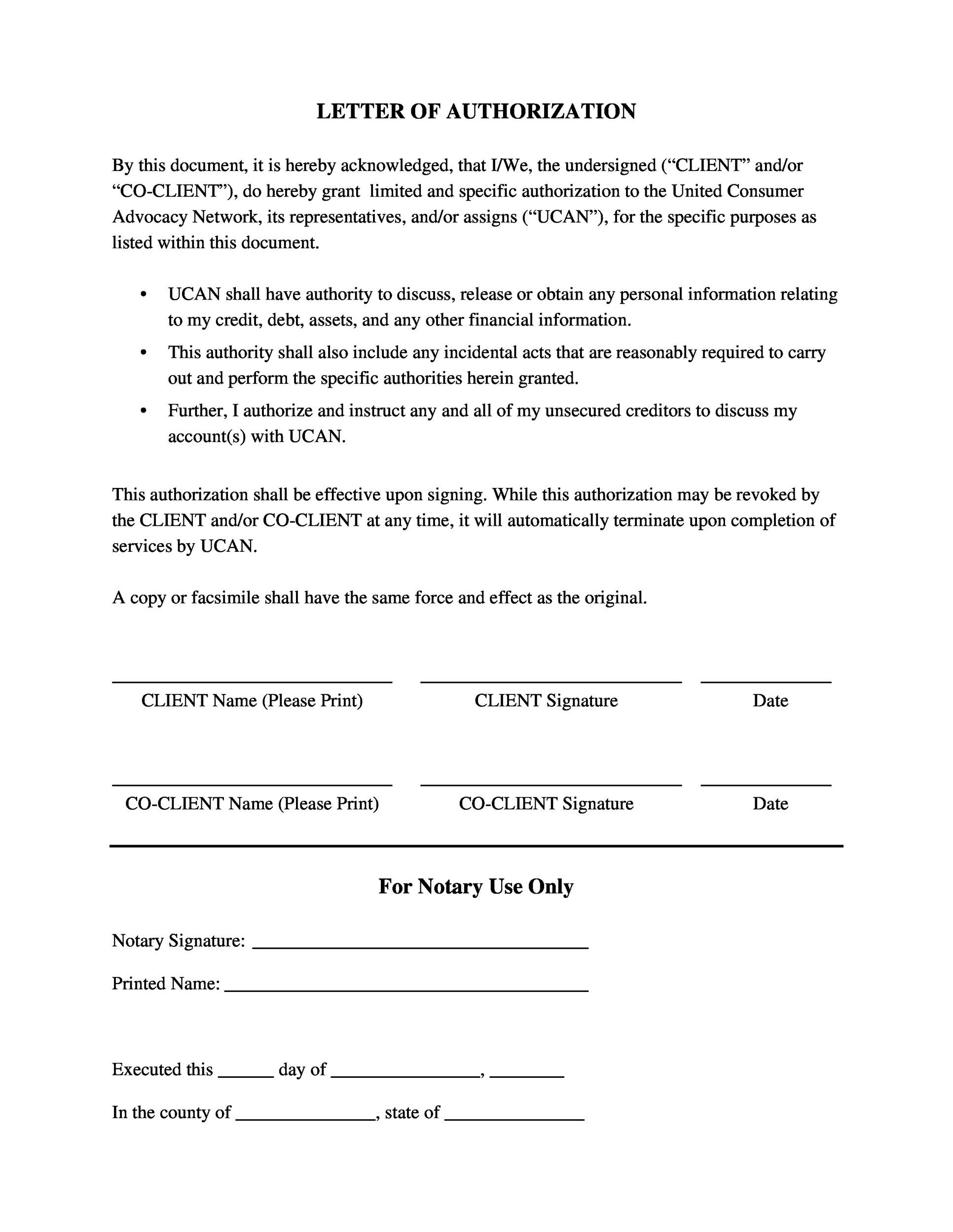 30+ Professional Notarized Letter Templates - Template Lab