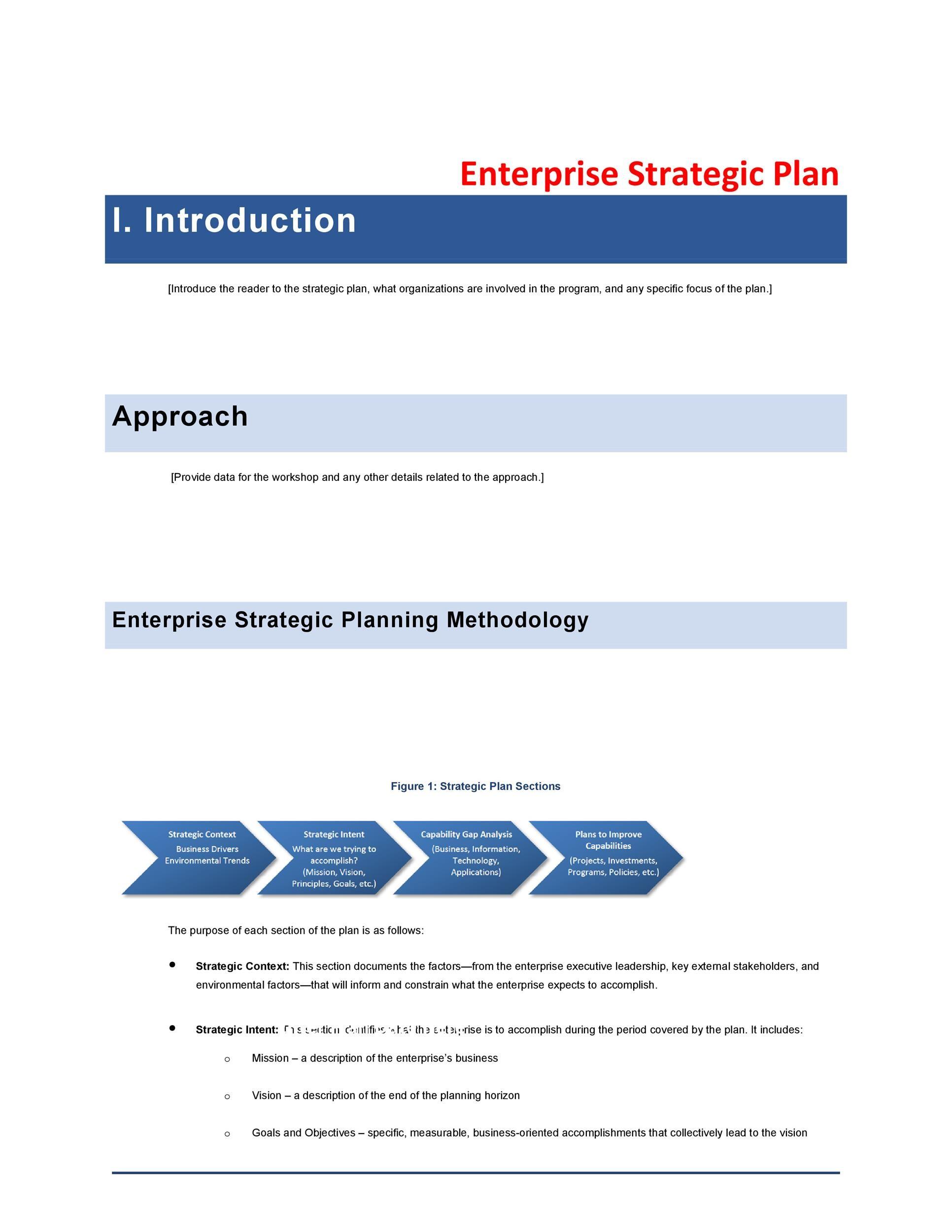 Free Strategic Plan Template 05