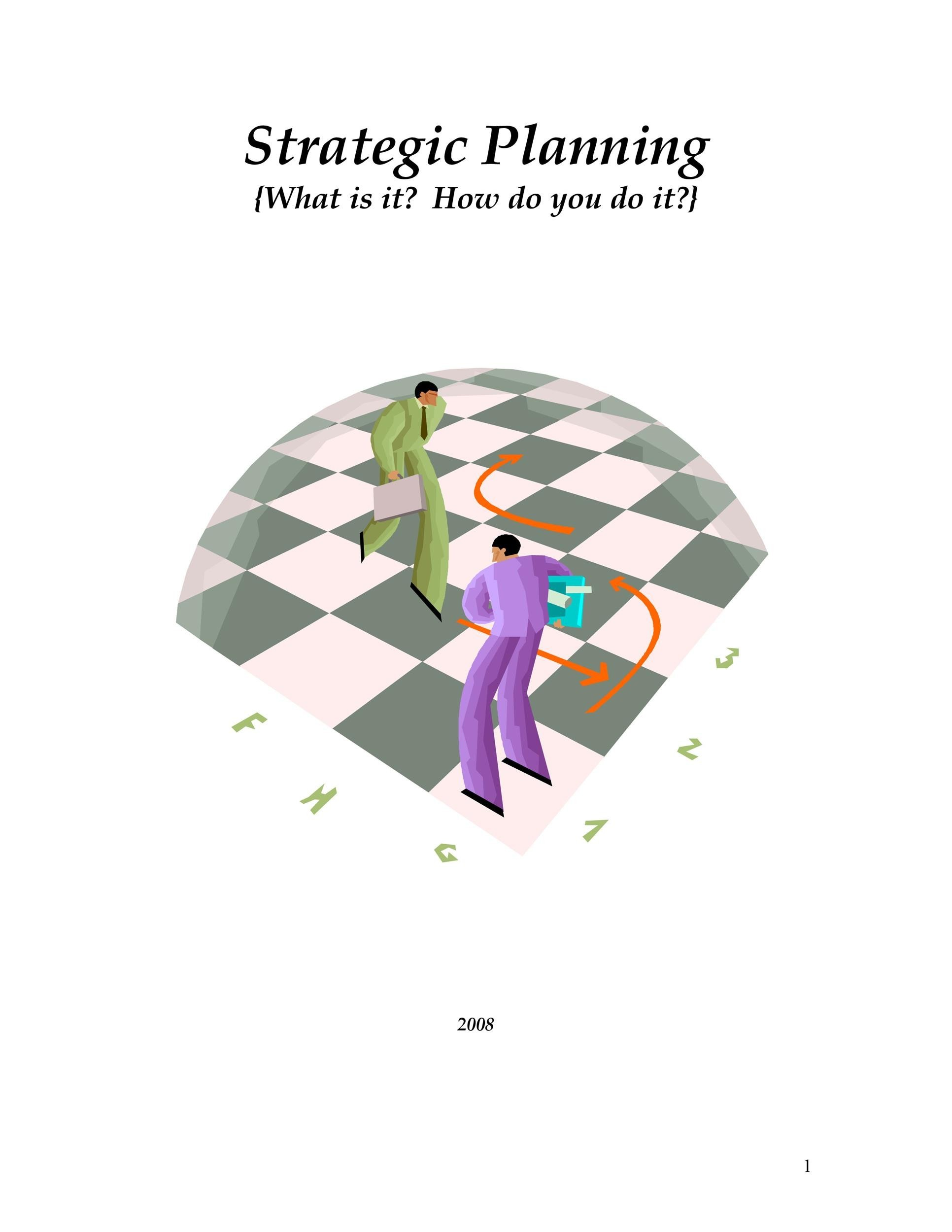 Strategic Plan Template 21