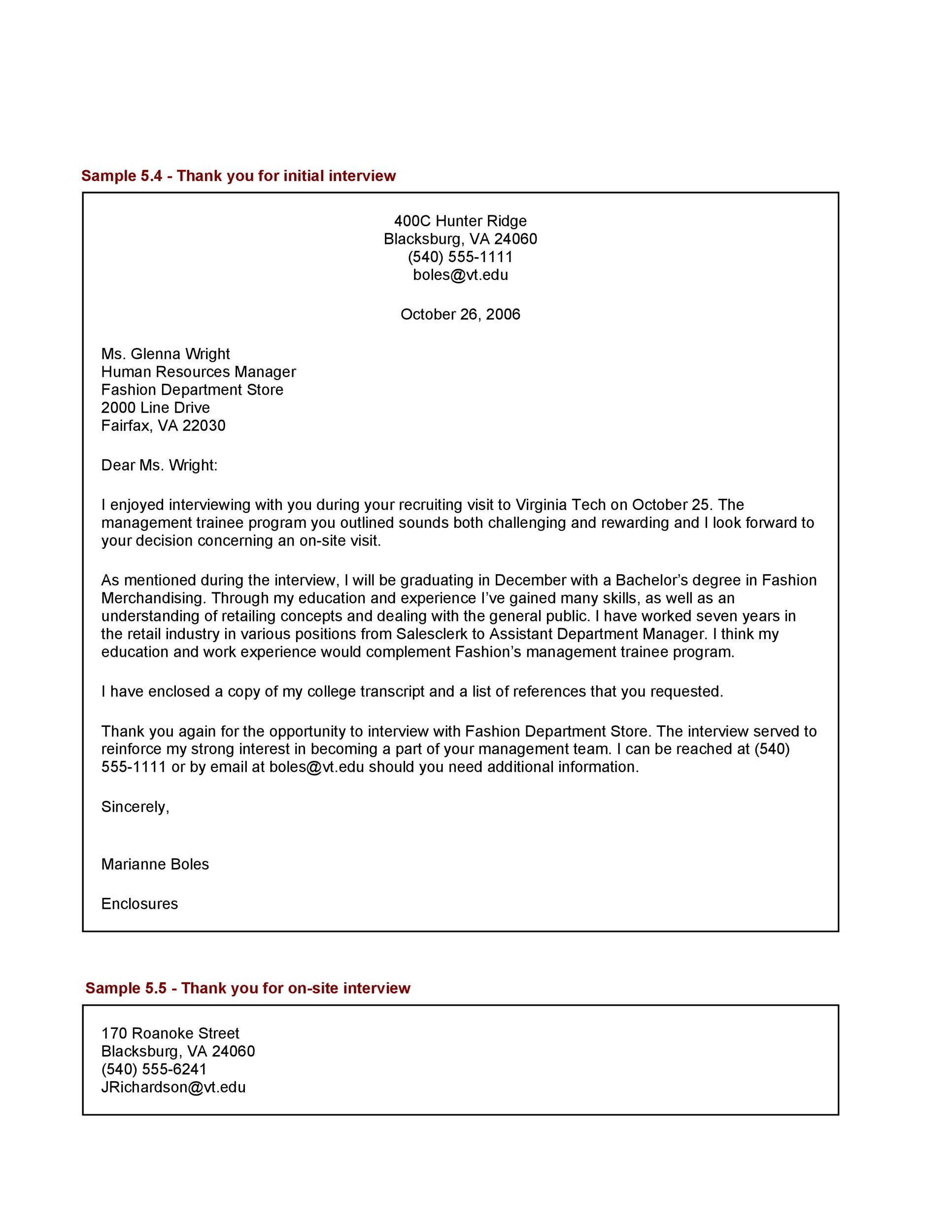 internal interview thank you email template - 40 thank you email after interview templates template lab