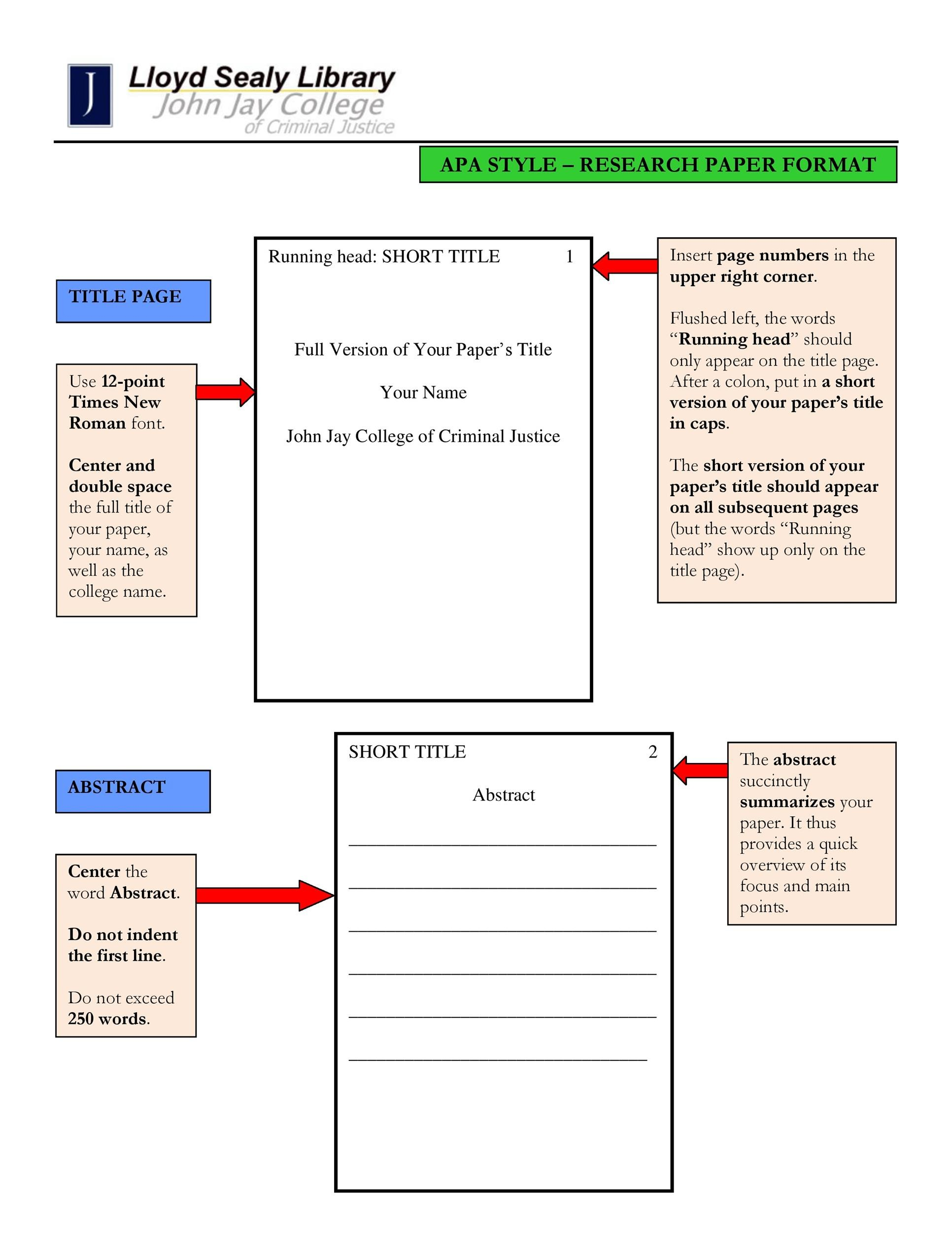 Printable Apa Template 07