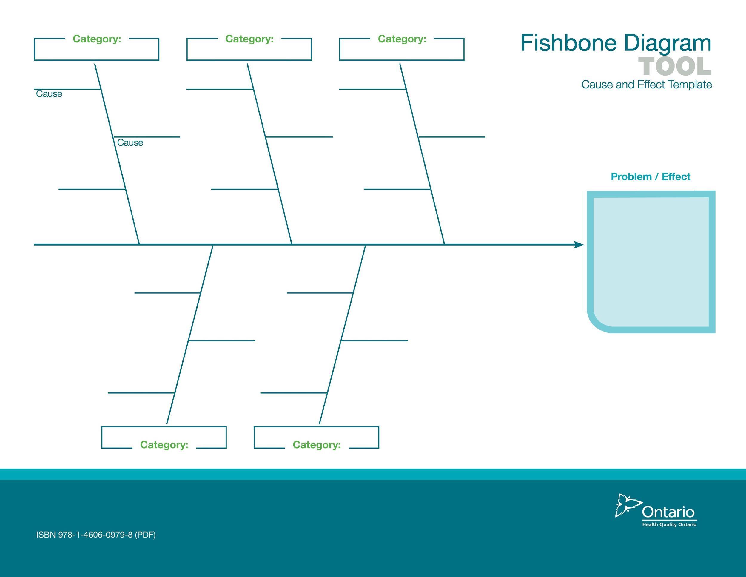 Free Fishbone Diagram Template 10