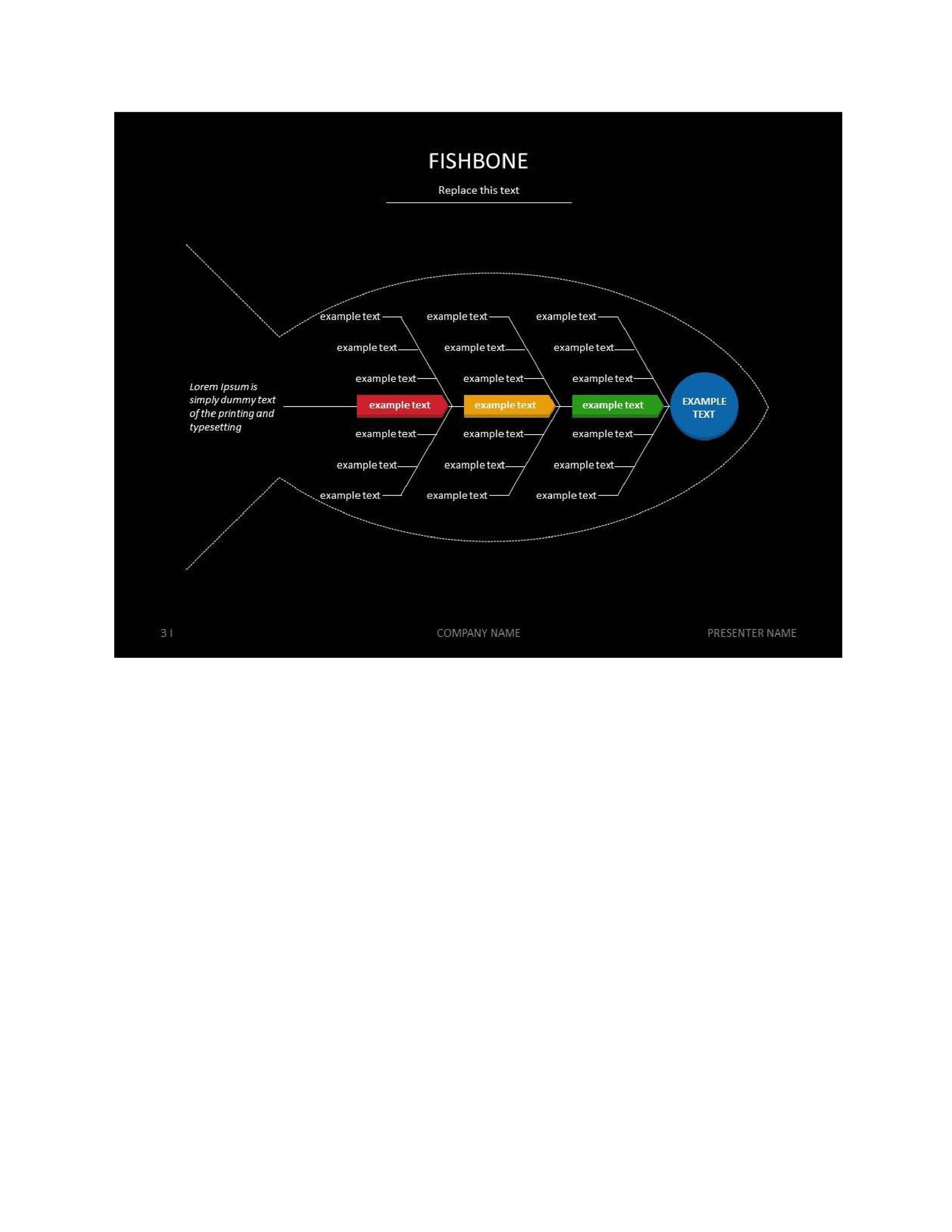 Free Fishbone Diagram Template 21