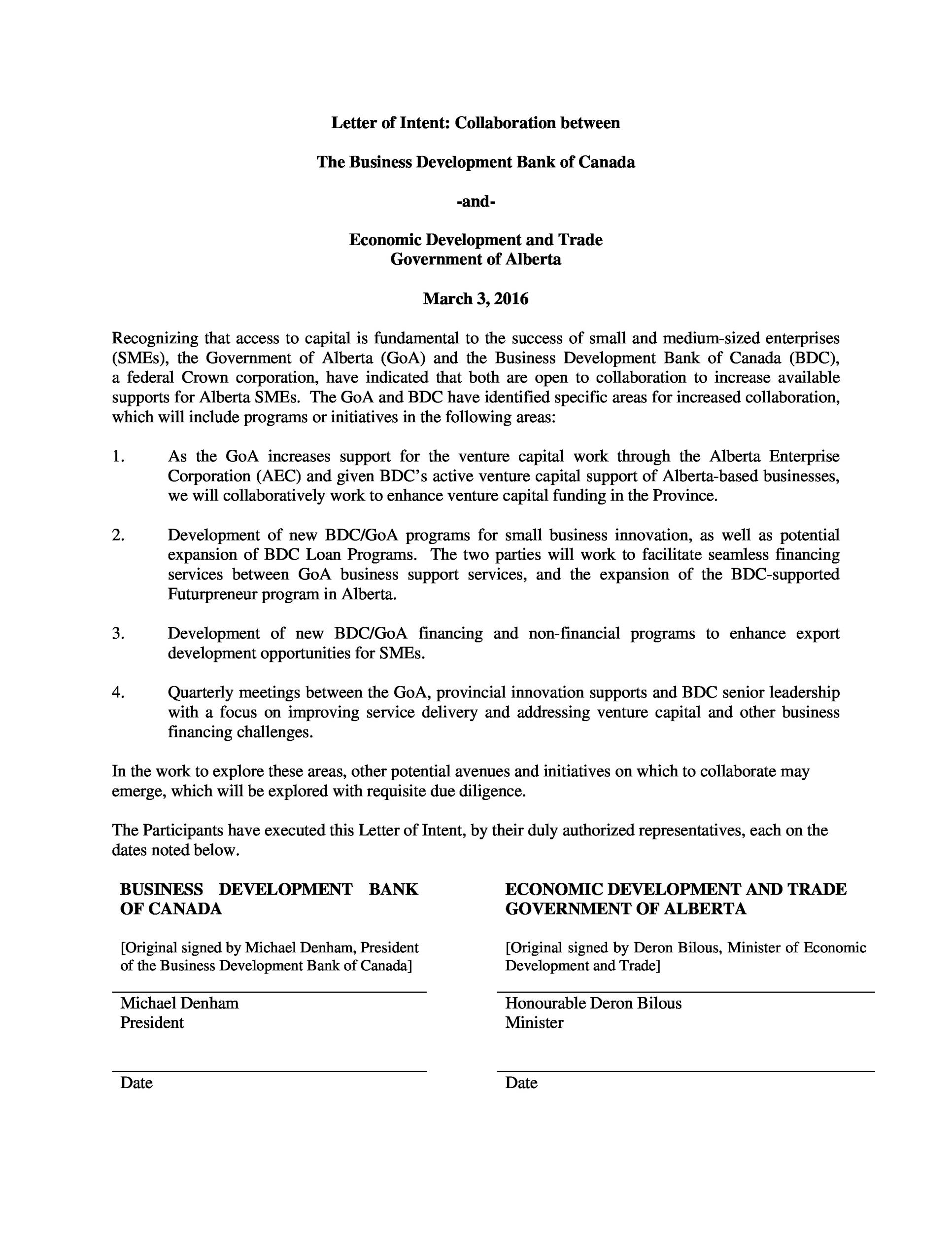 letter of intent template 2 40 letter of intent templates amp samples for school 1405