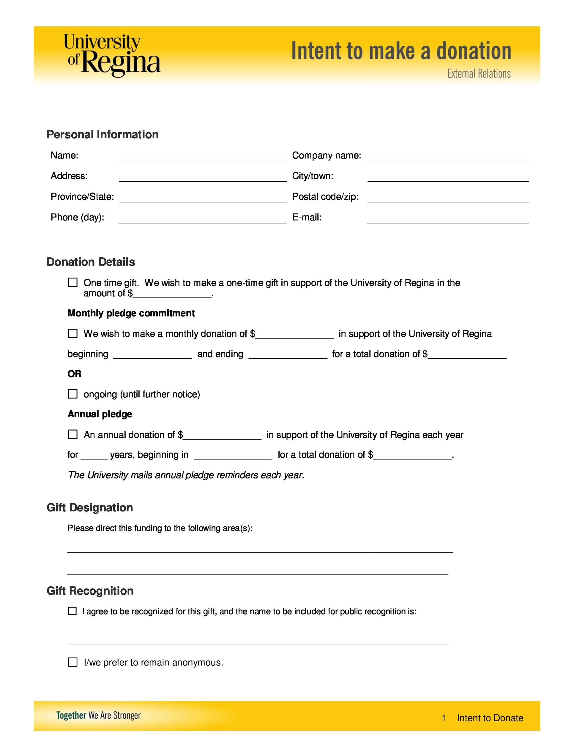 Free letter of intent 27