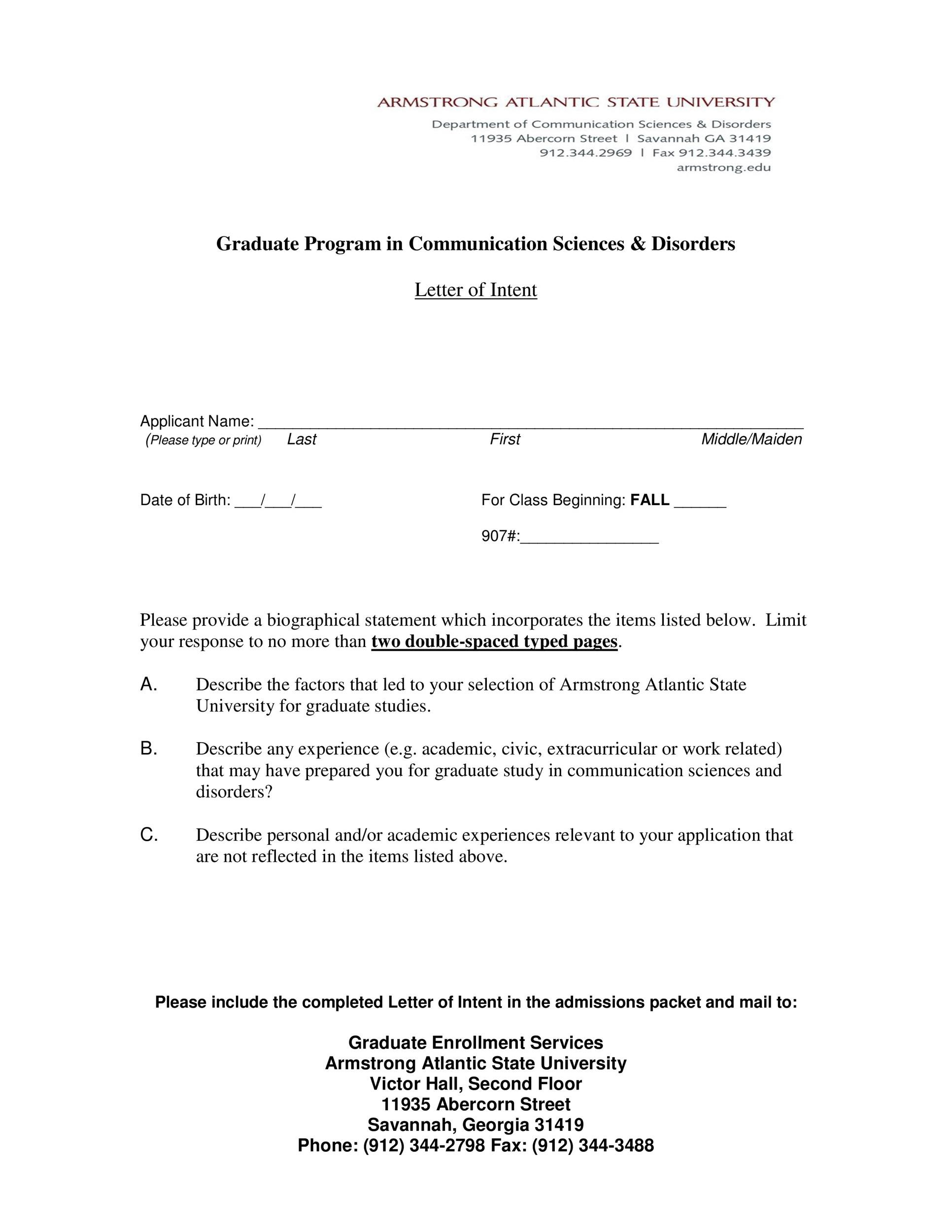 Letter Of Intent Employment Example from templatelab.com