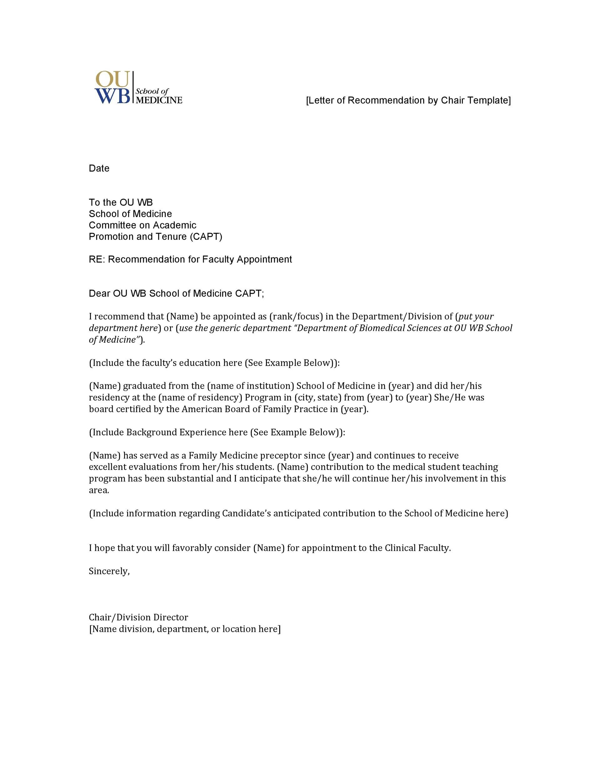 Charming Letter Of Recommendation For College With Letters Of Recommendation Templates