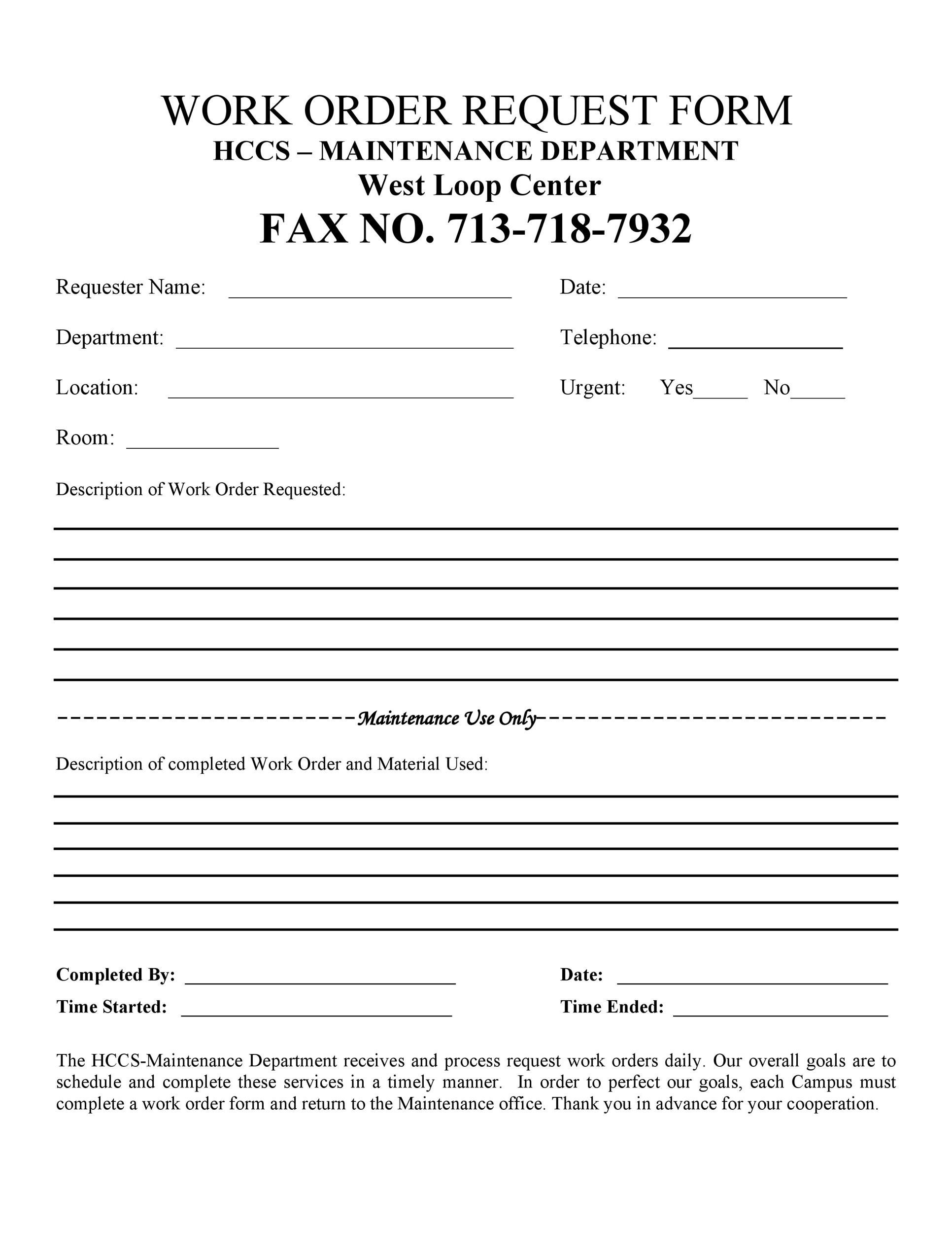 Job Order Template Forms U2013 Fillable U0026 Printable U2026 IMPORTANT: You Must Enter  A Current Active Printing Internal Billing Number On The Print Job And Copy  ...