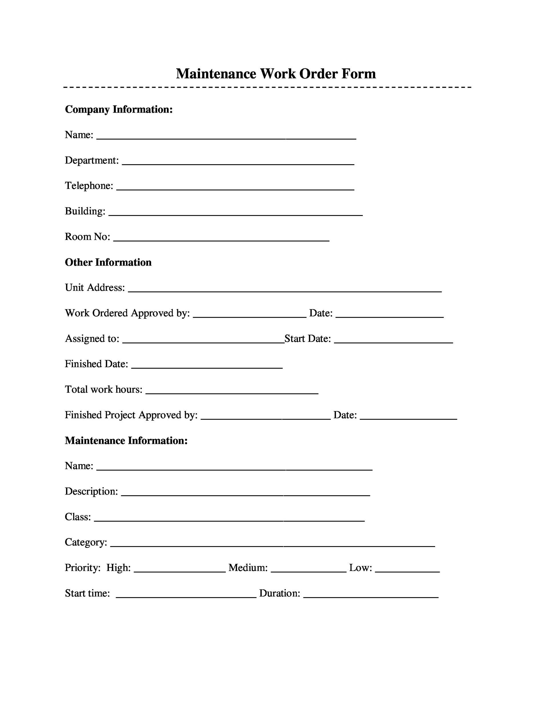 Order Form Template 29 Template Lab