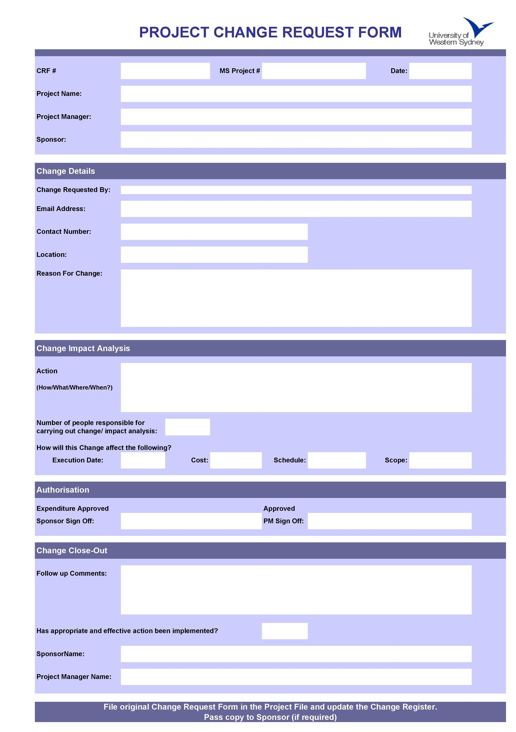 Free Order Form Template 33