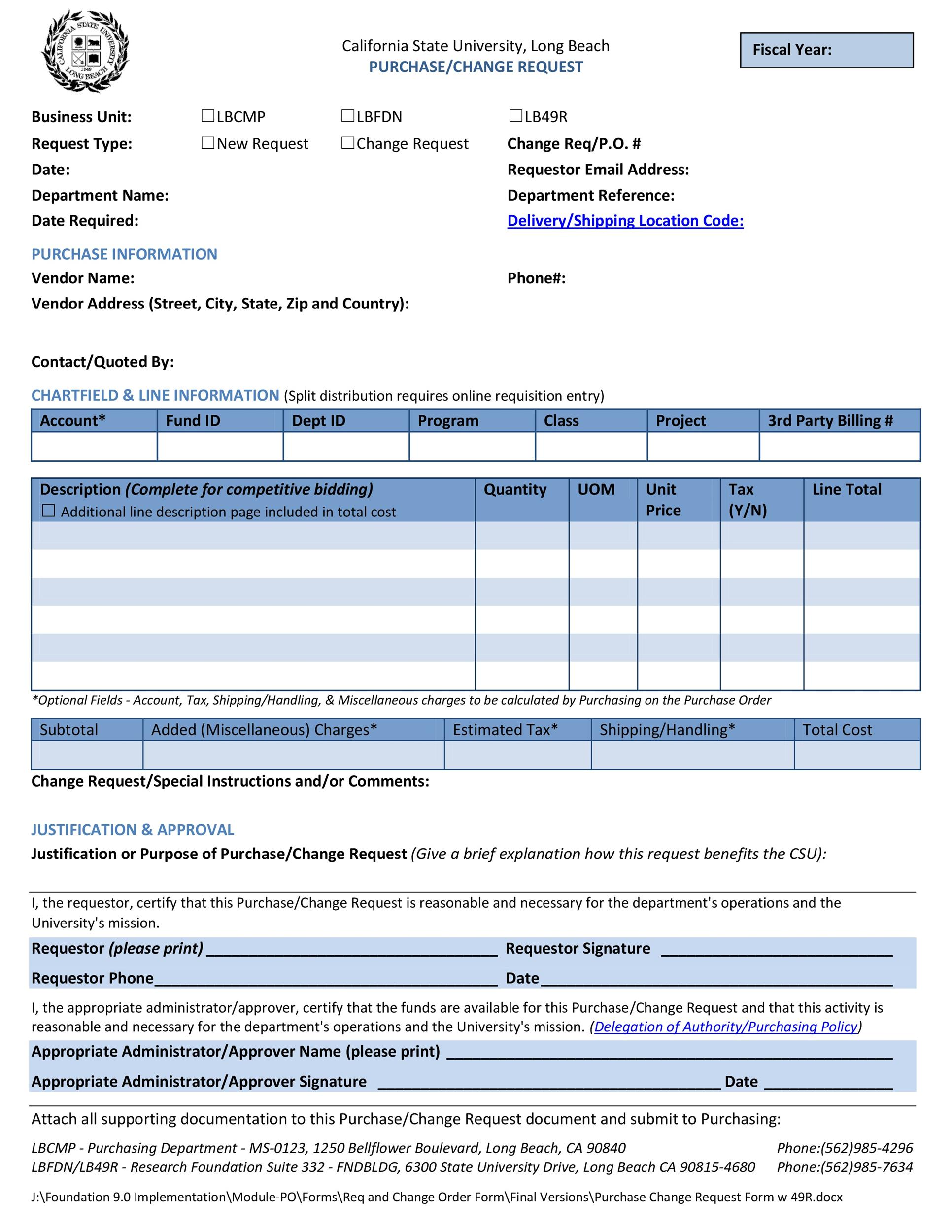 Free Order Form Template 37