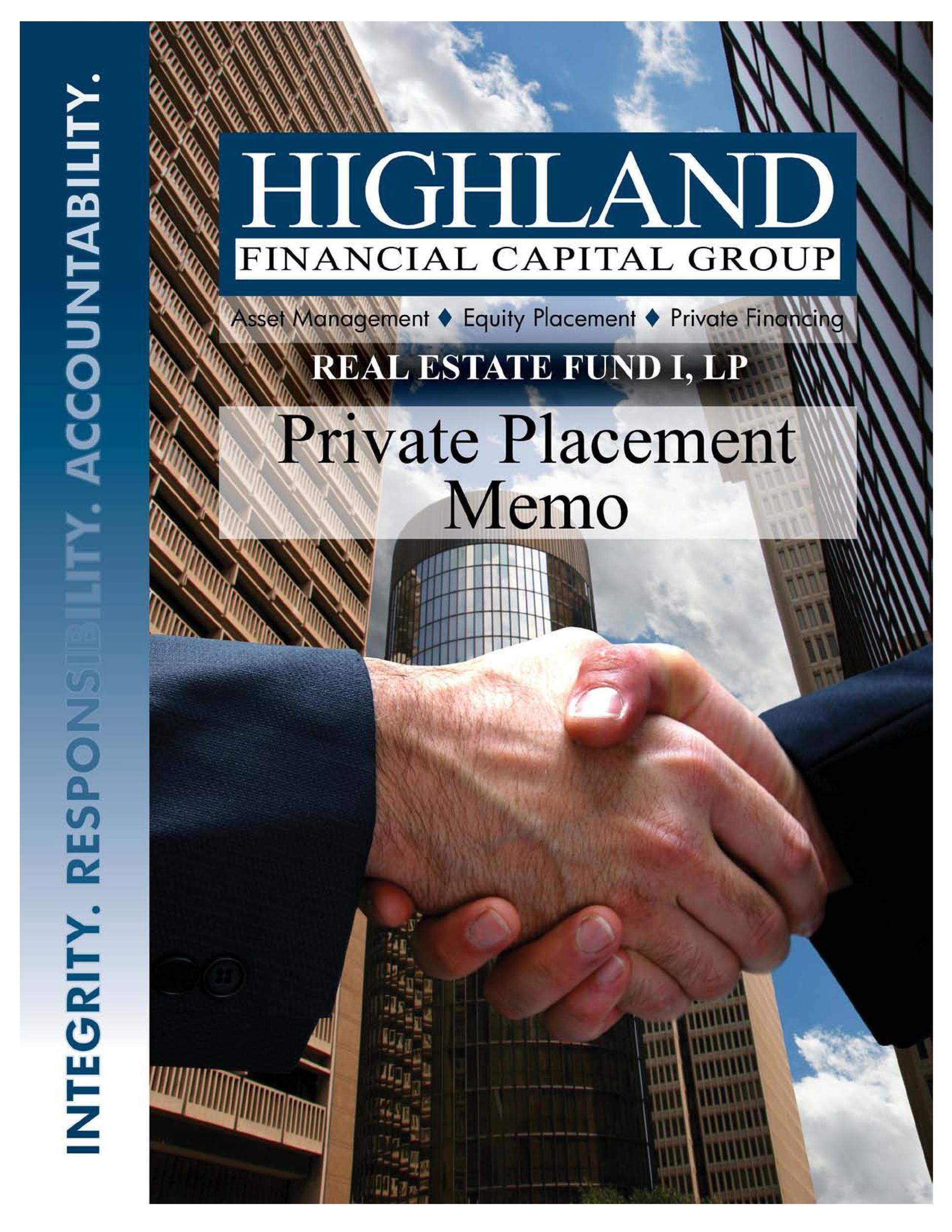 Free private placement memorandum template 34