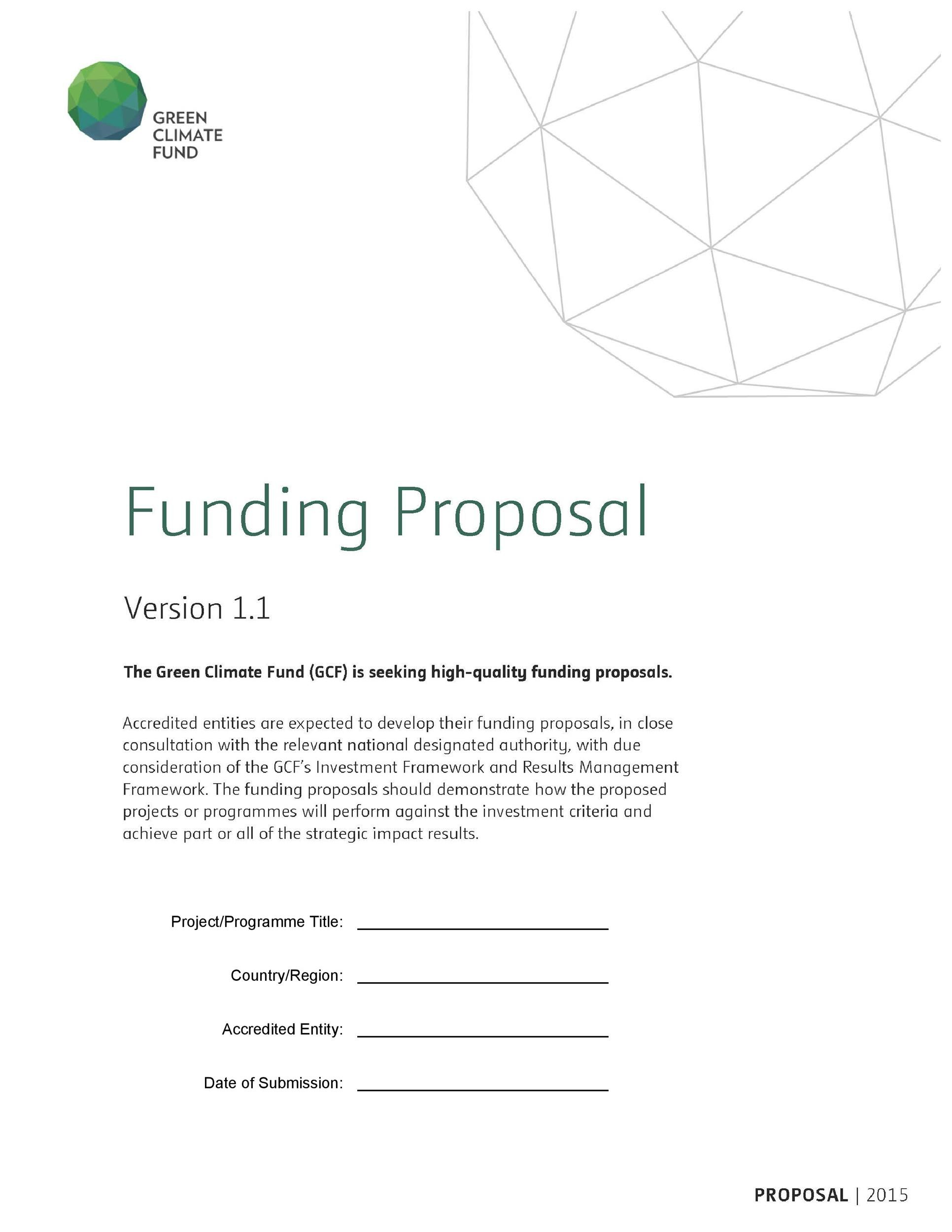 Project proposal format sample pdf