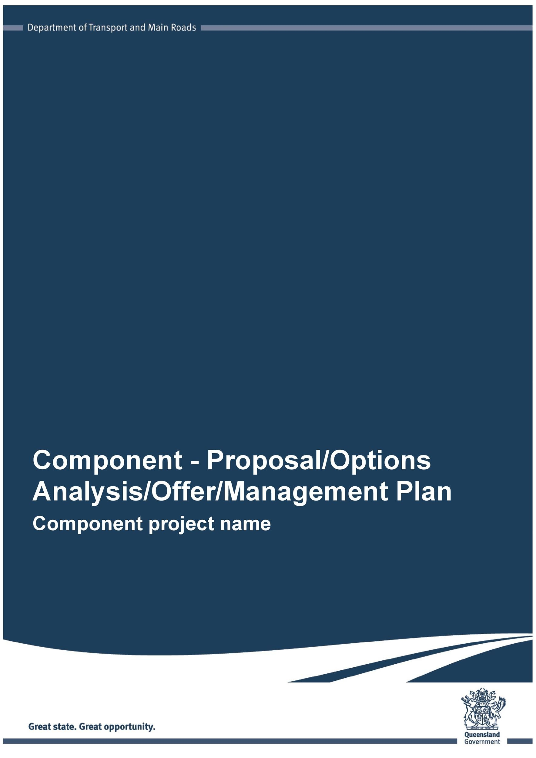 Free Project Proposal Template 16