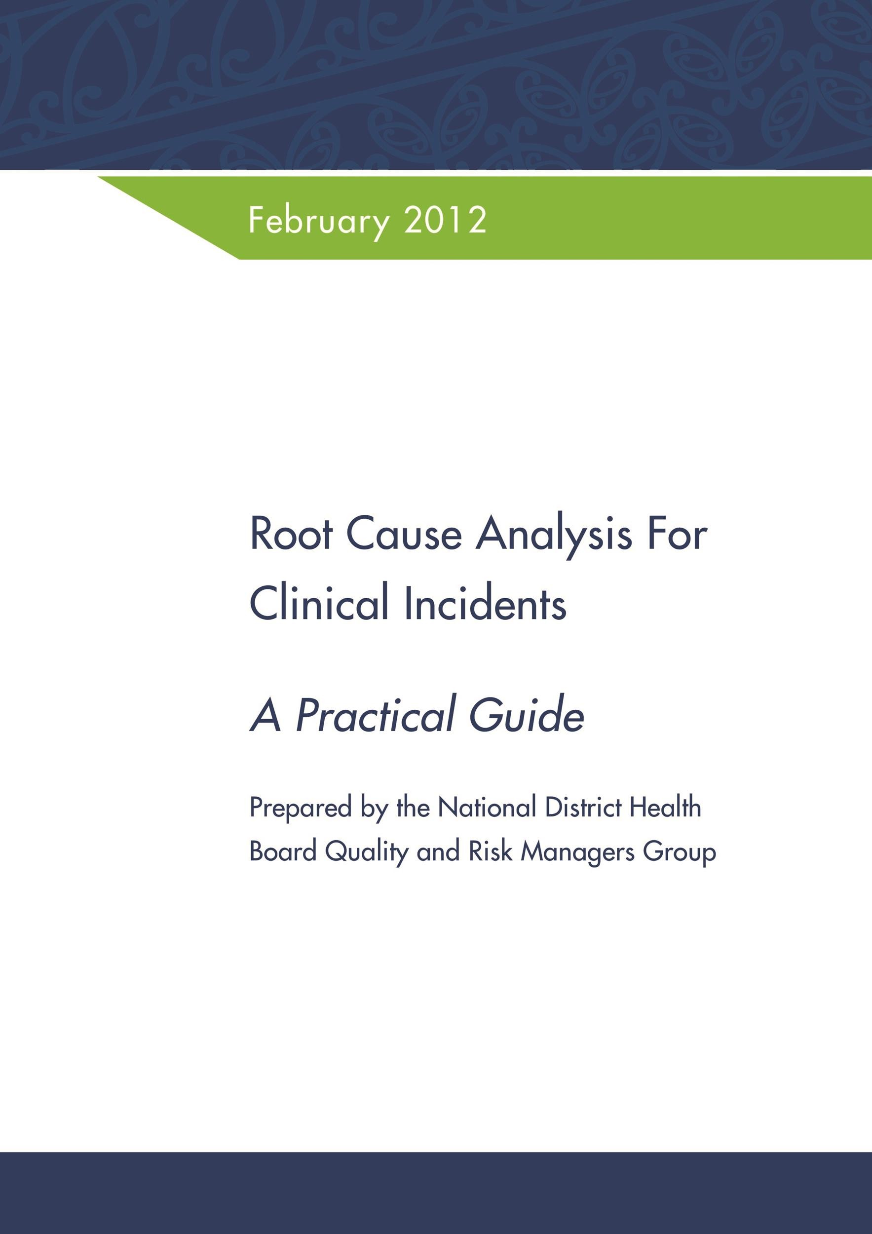 Free Root Cause Analysis Template 11