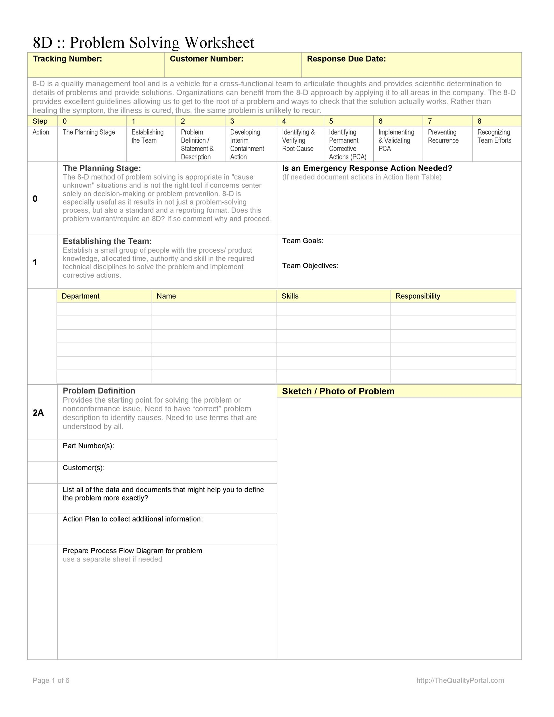 Free Root Cause Analysis Template 17