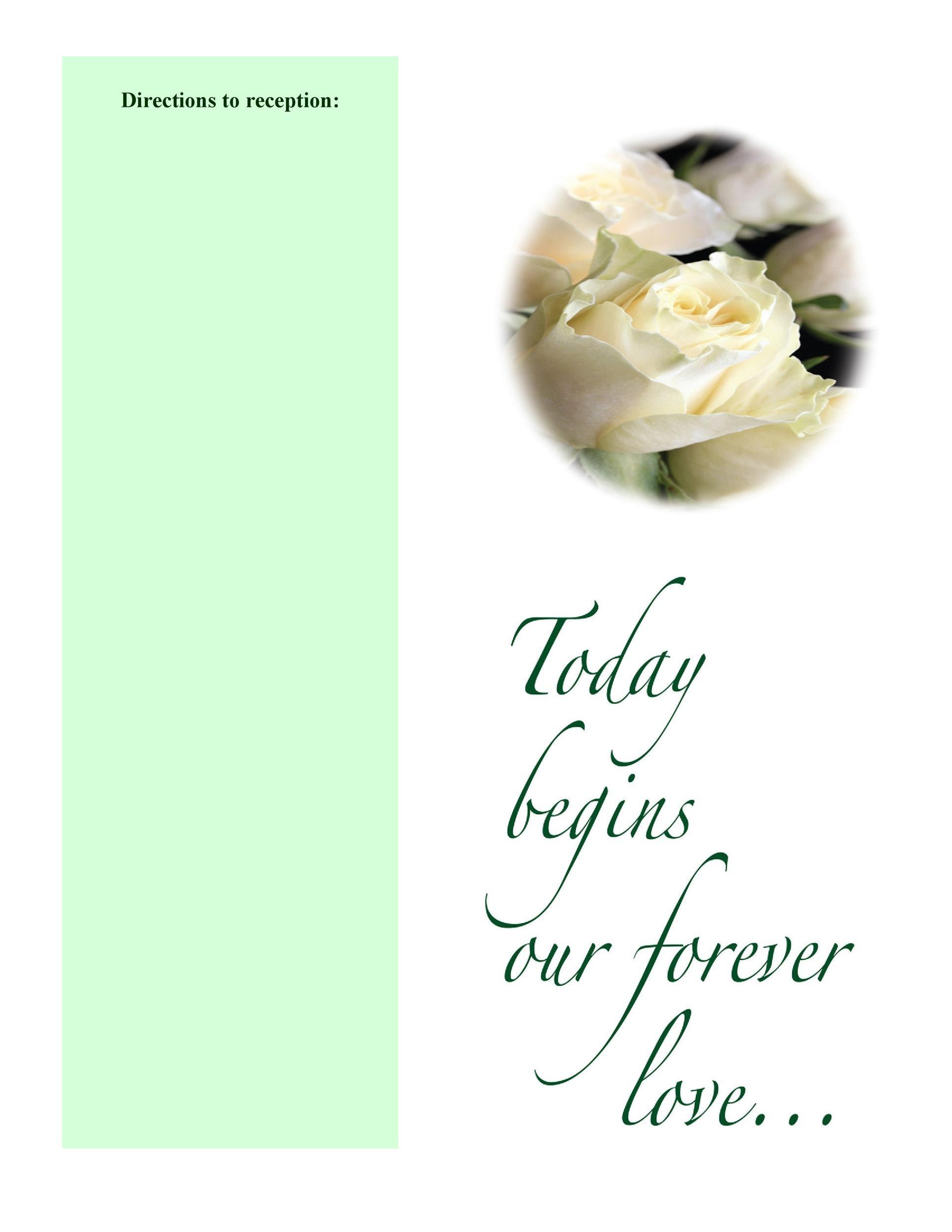 Wedding Programs Word Template from templatelab.com