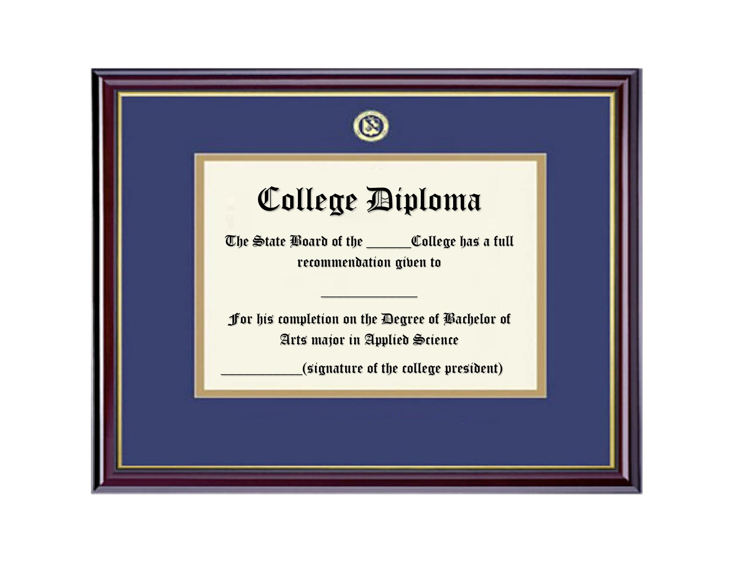 Free Diploma Template 17