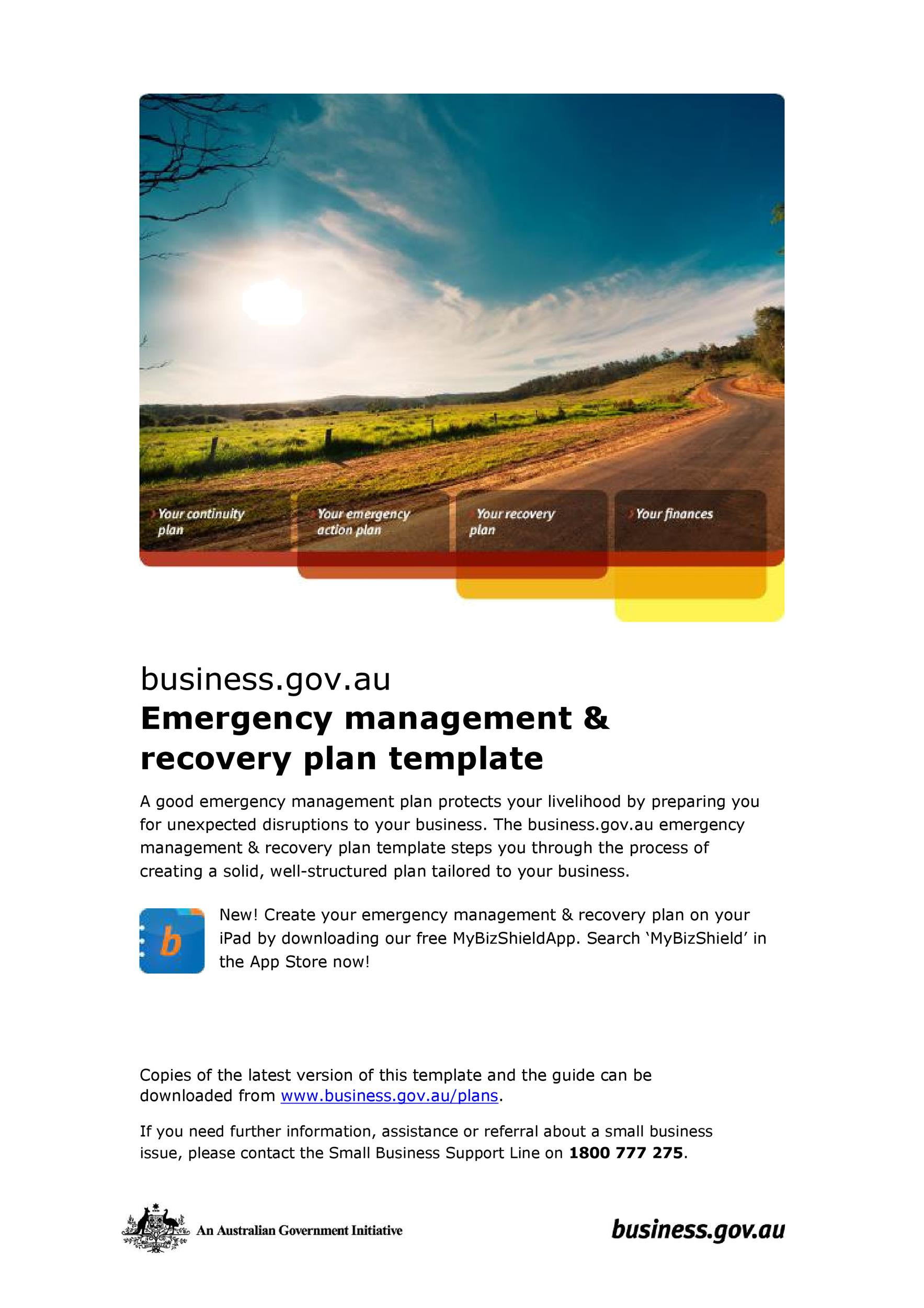 Free Disaster Recovery Plan Template 21