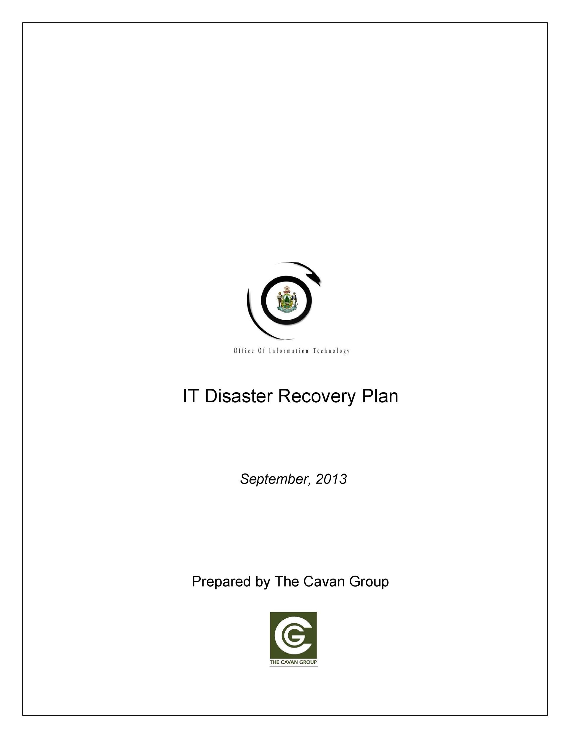 Free Disaster Recovery Plan Template 26