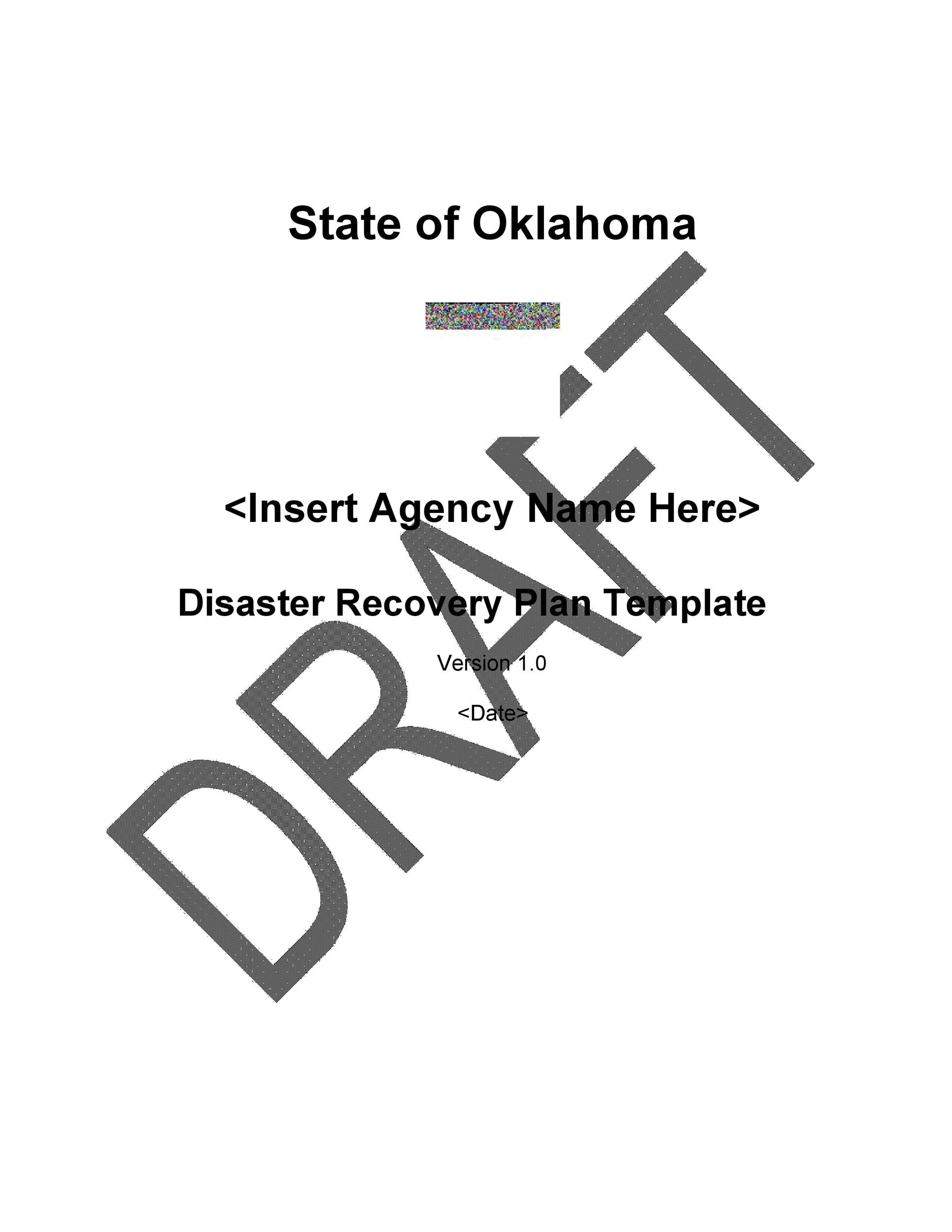 Free Disaster Recovery Plan Template 32