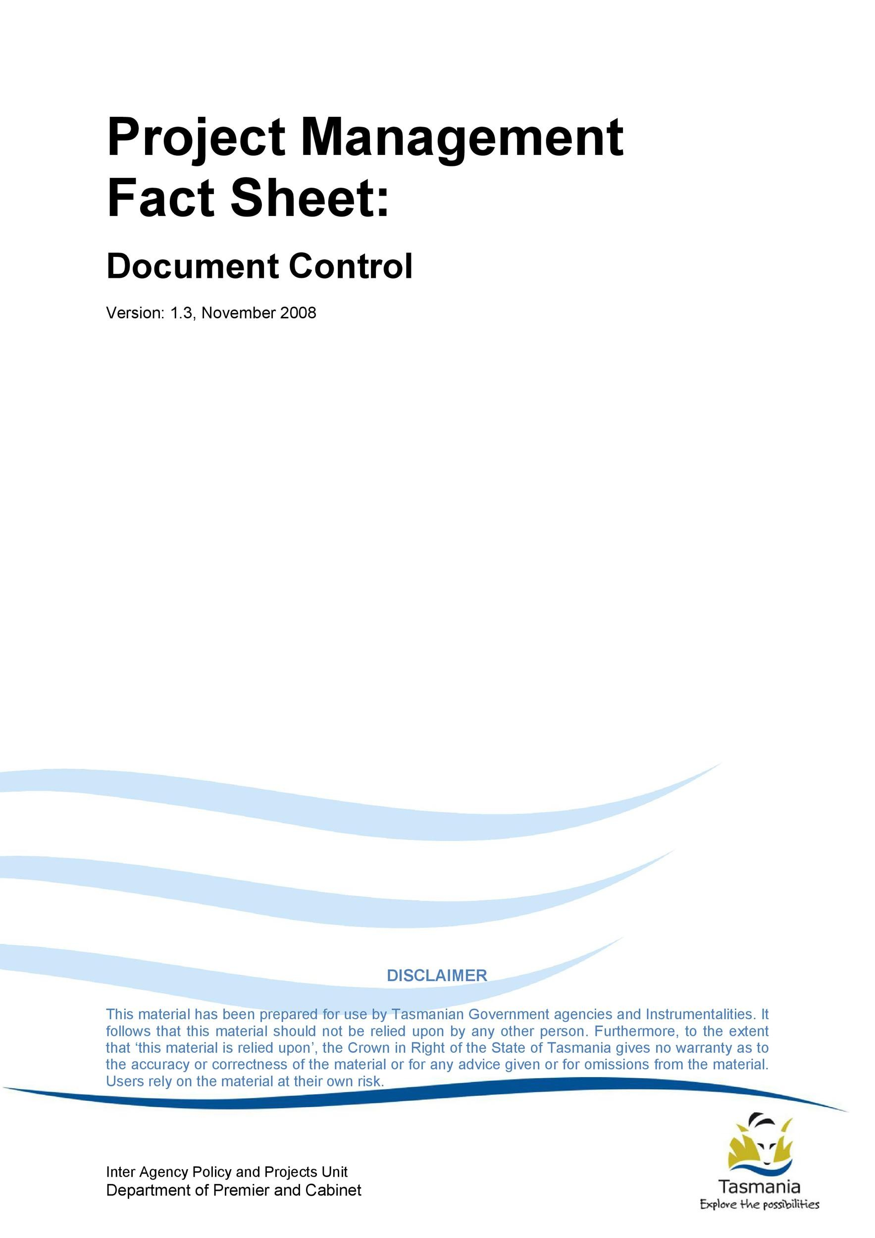 Free Fact sheet Template 17
