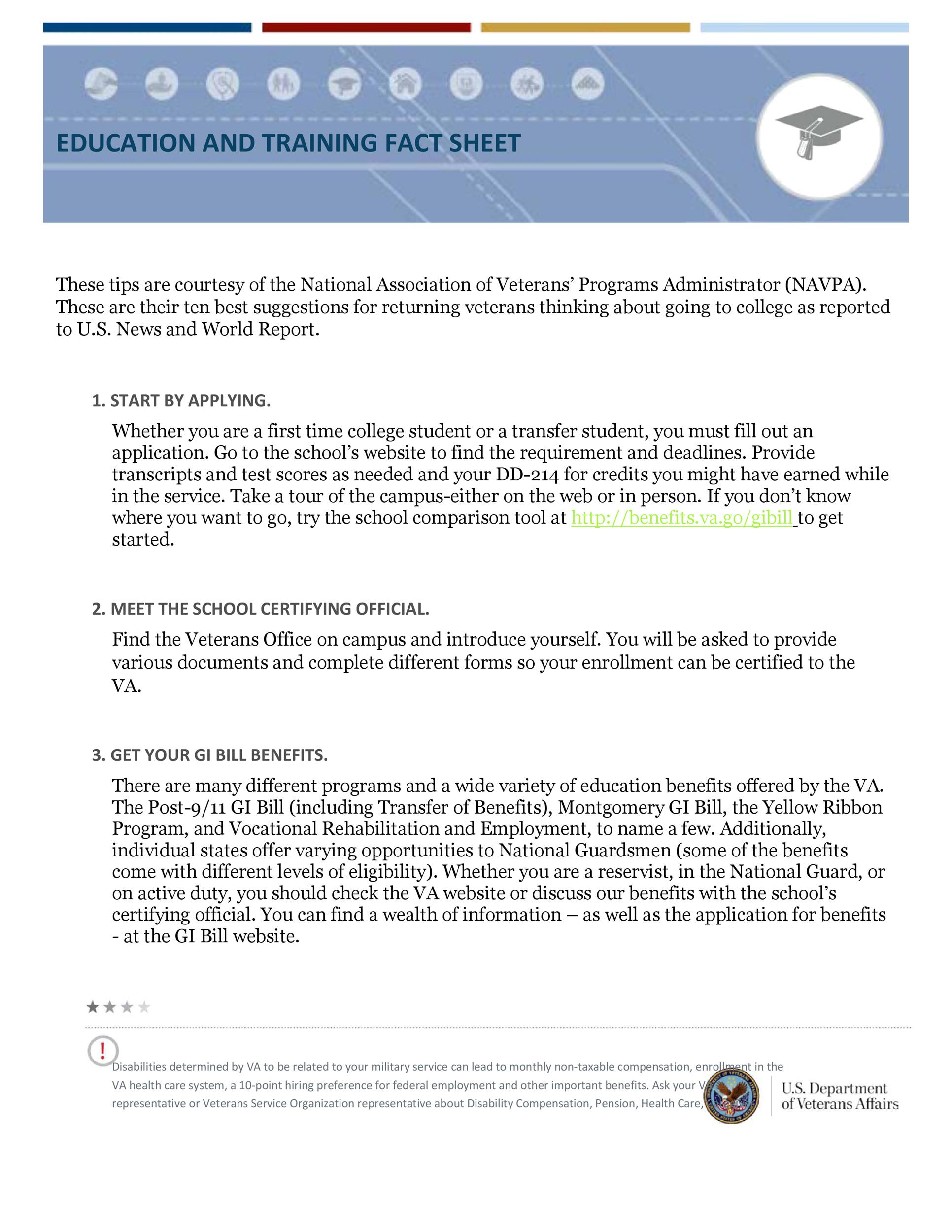 Free Fact sheet Template 19