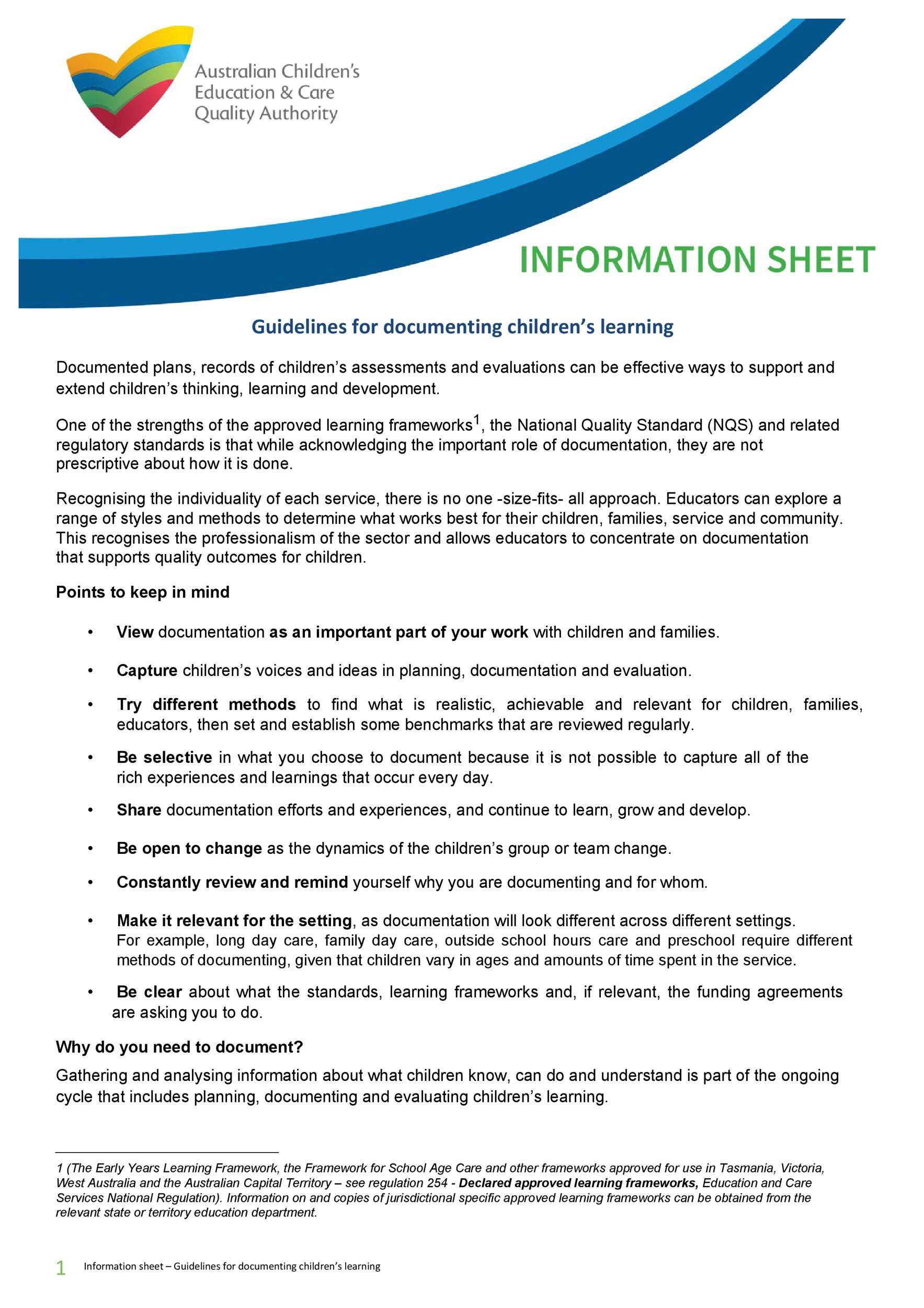 Fact Sheet Template 23 Template Lab