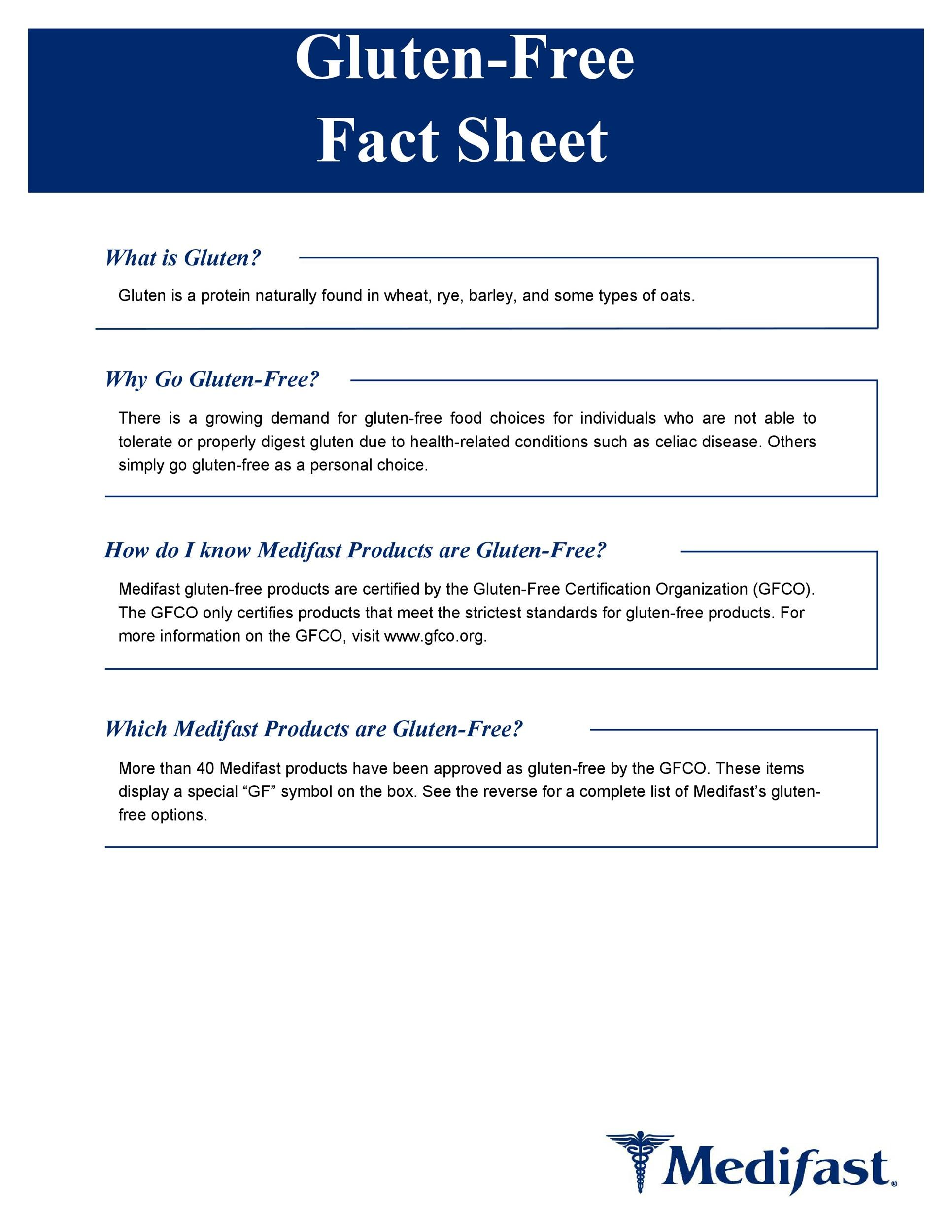 Free Fact sheet Template 59