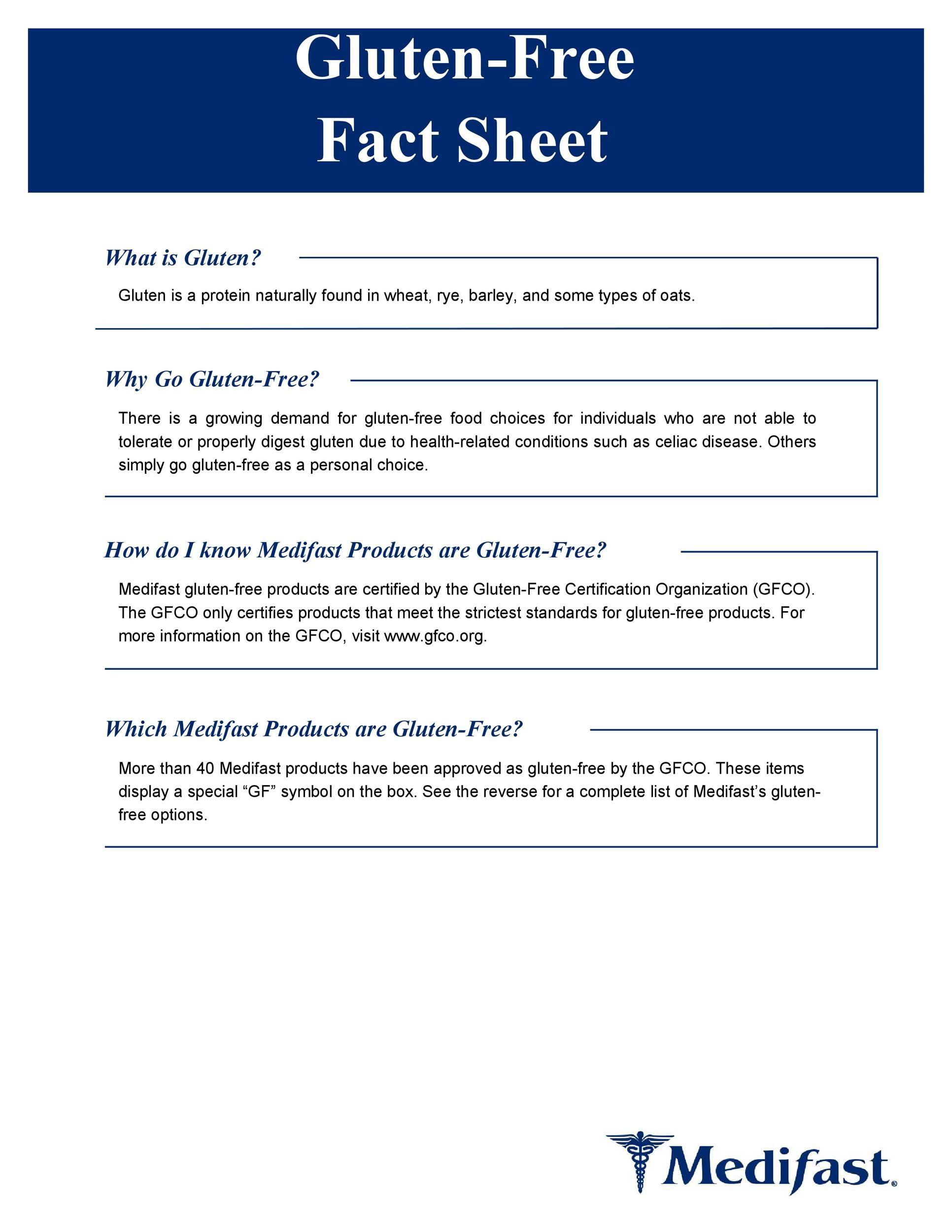 Personal Fact Sheet Template - Eliolera.com