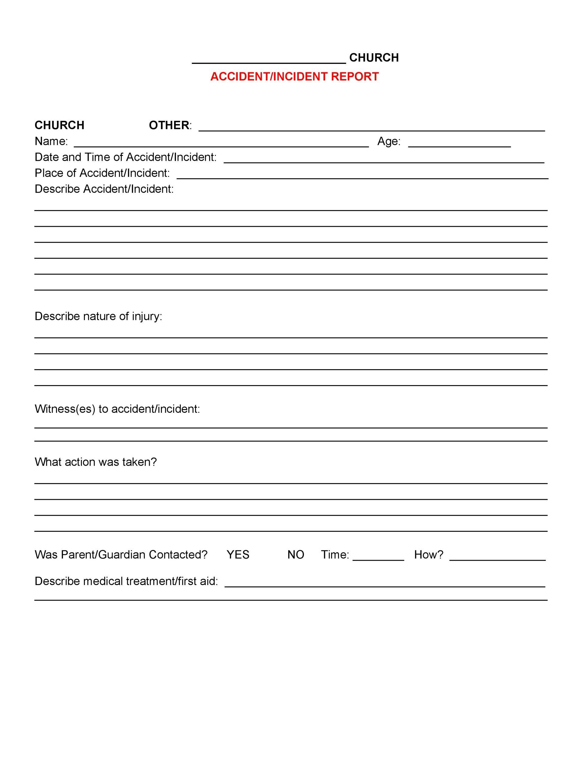 aging report template