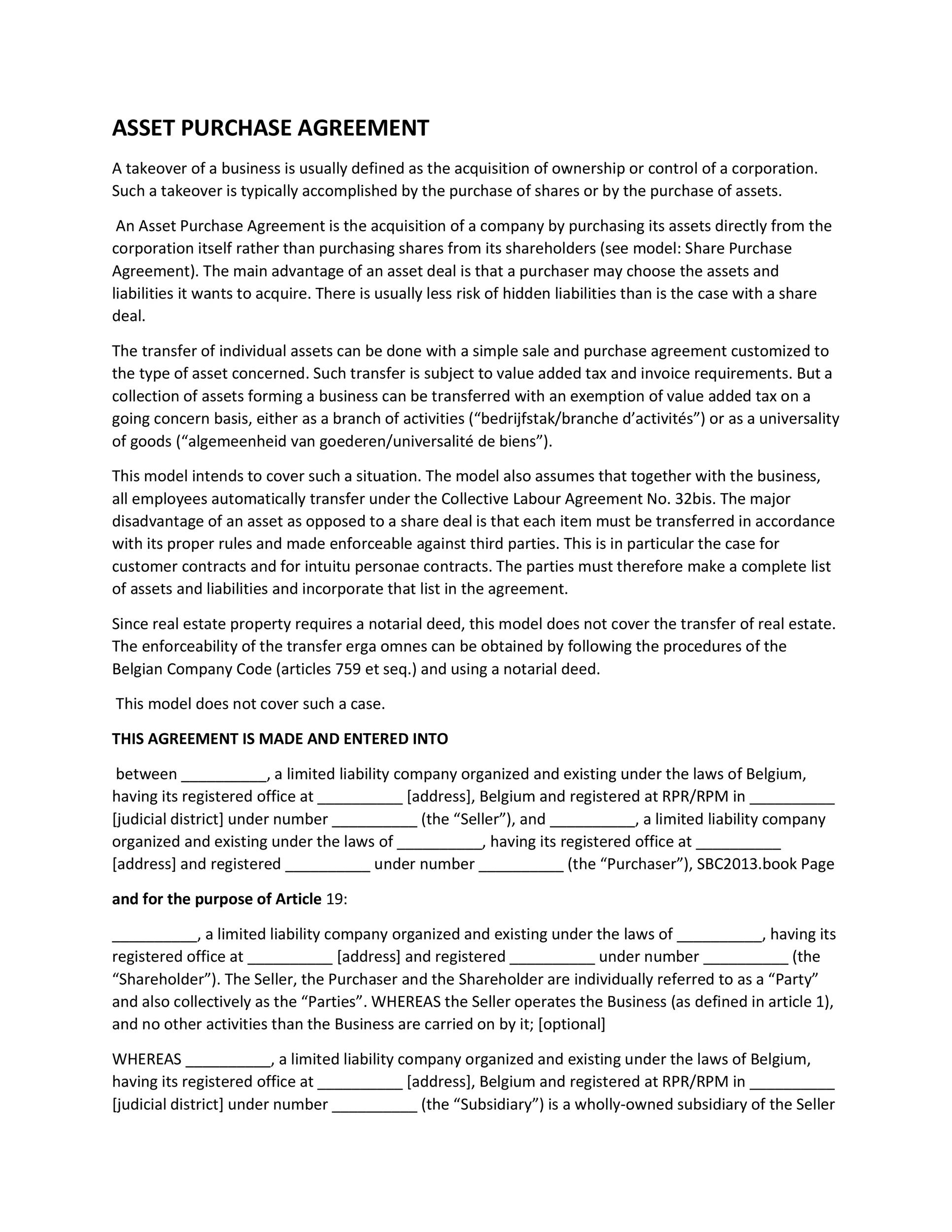 Buyout agreement template 28 images 20 buy sell for Business buyout agreement template