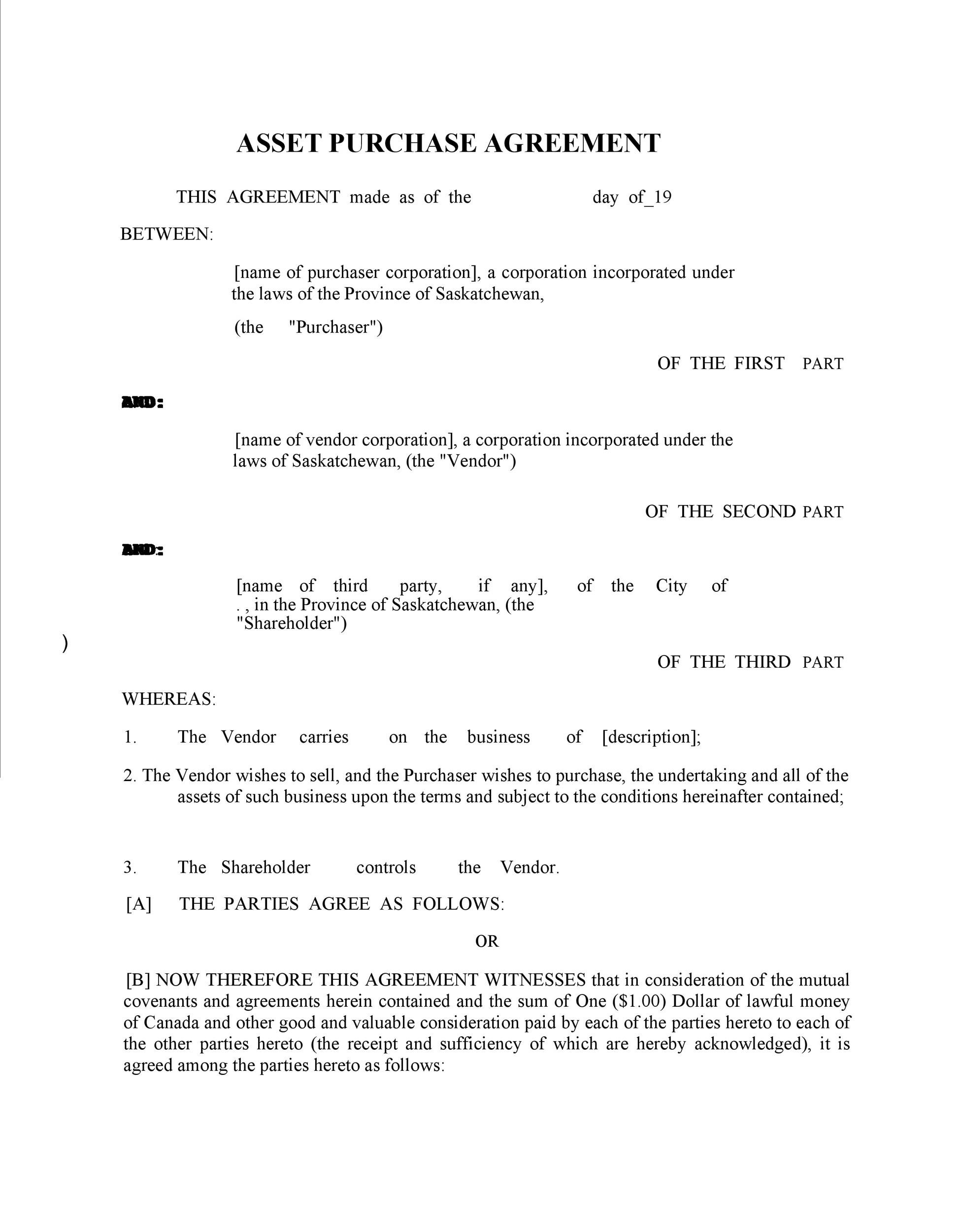 Free Purchase Agreement Template 24