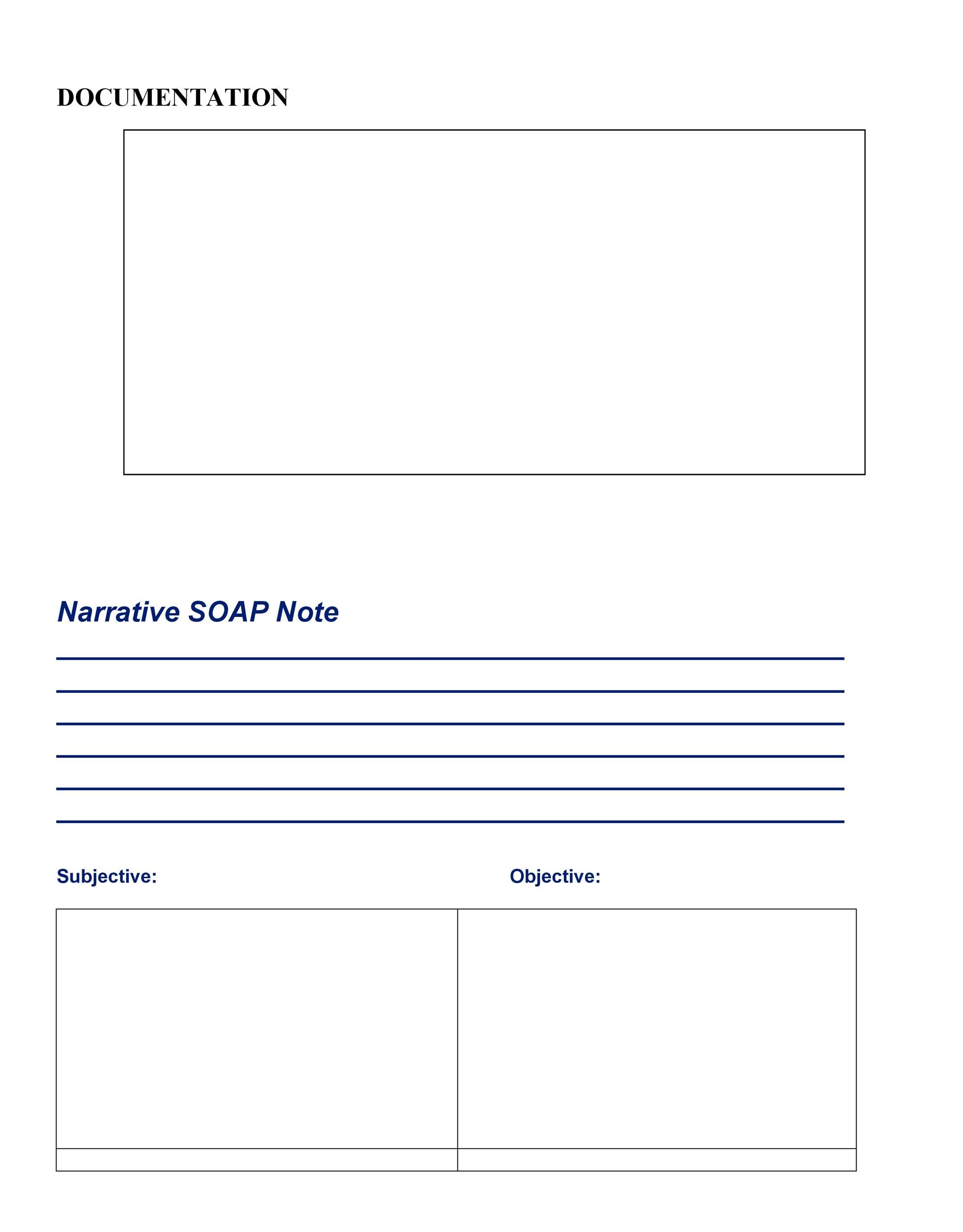 Free Soap Note Template 05