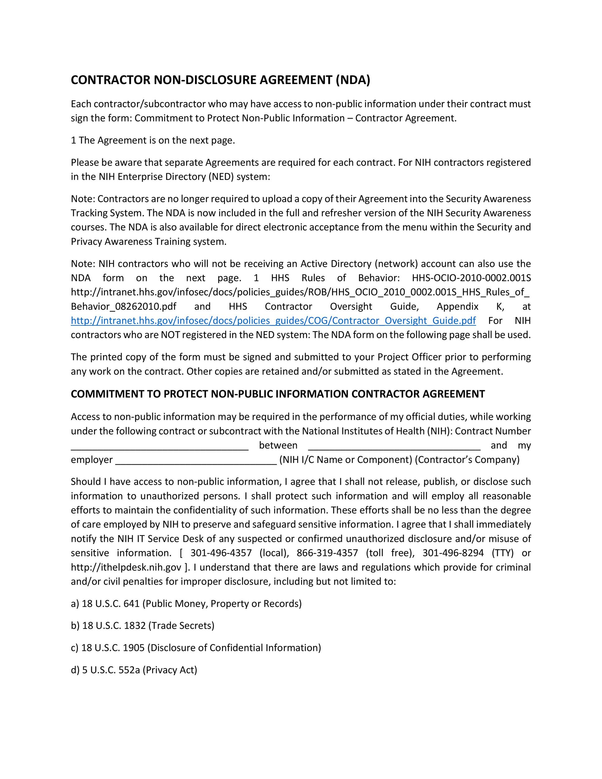 Free Subcontractor Agreement 33