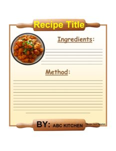 cookbook template 14
