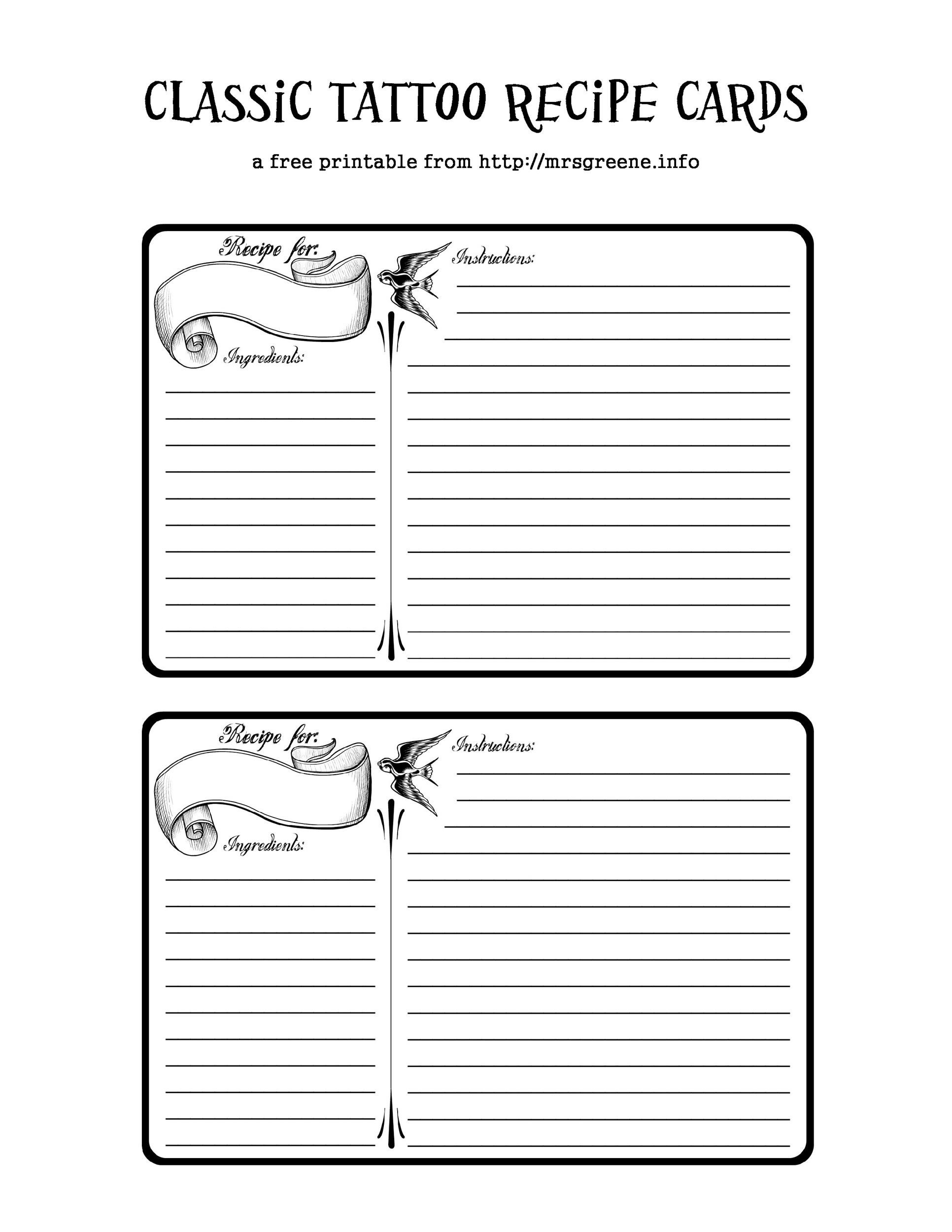Perfect Cookbook Templates Recipe Book Recipe Cards - Writing a cookbook template
