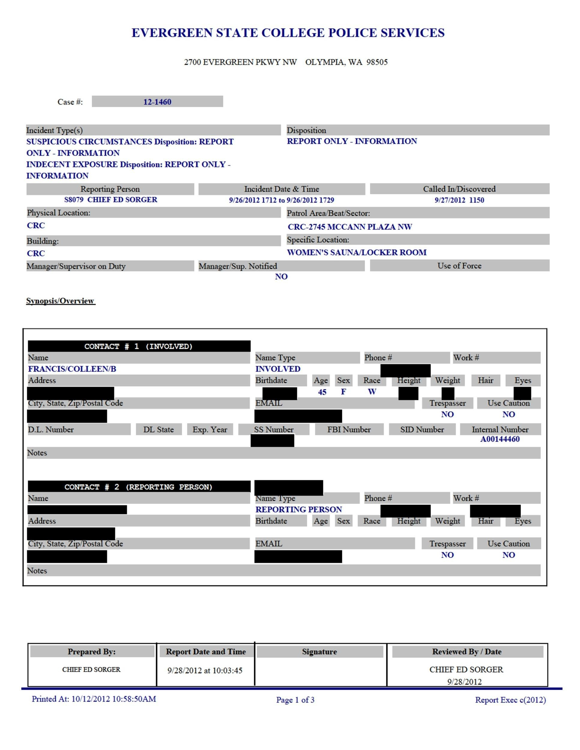 20+ Police Report Template & Examples [Fake / Real] - Template Lab