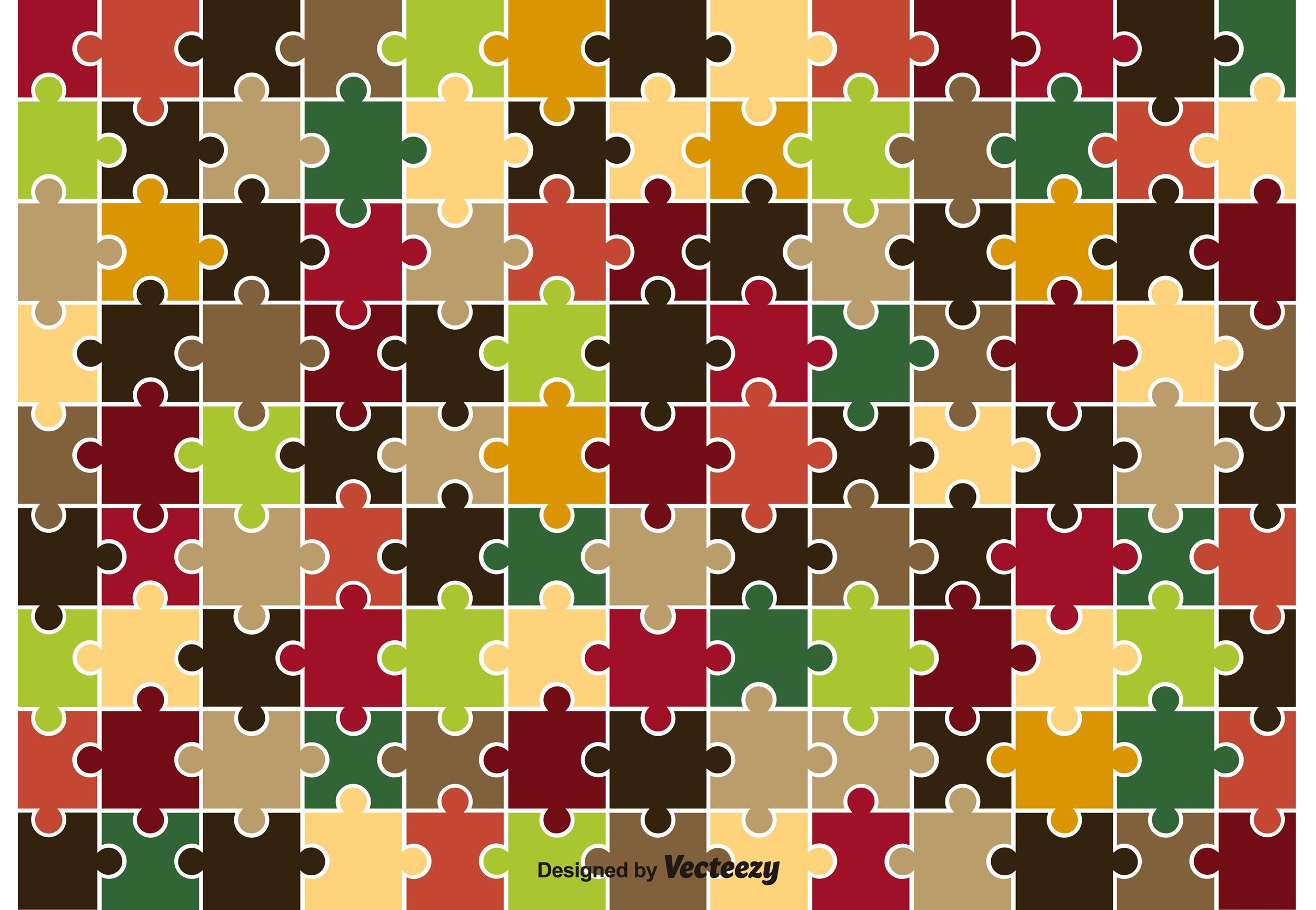 Free puzzle piece template 12